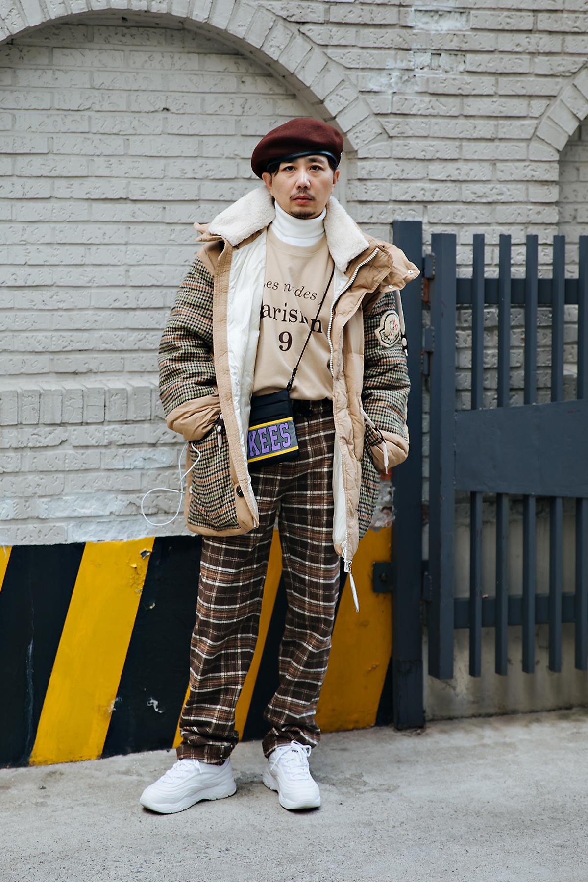 Xuxu, Street style men winter 2017-2018 inseoul