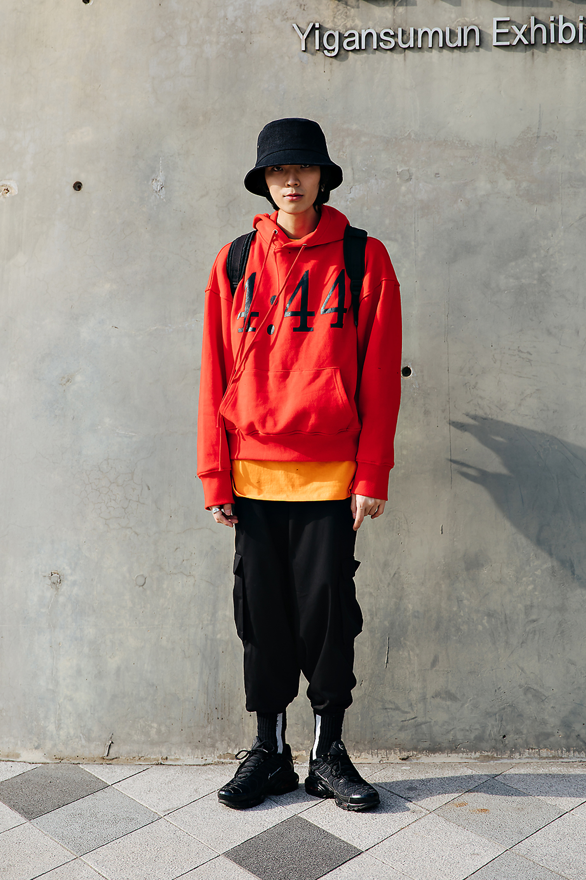 An Junghoon, SEOUL FASHION WEEK STREETWEAR MENS 2018FW