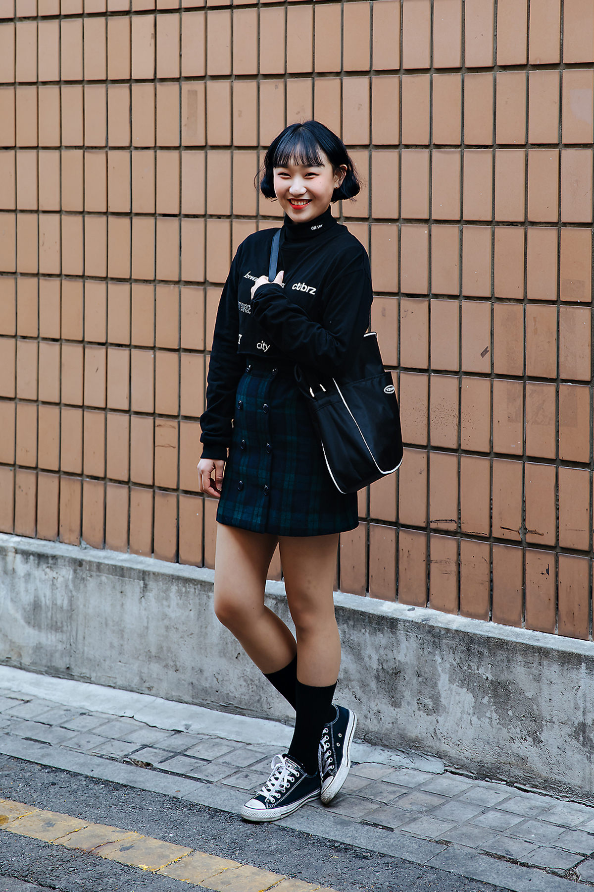 Baek Jieun, Street style women winter 2017-2018 inseoul