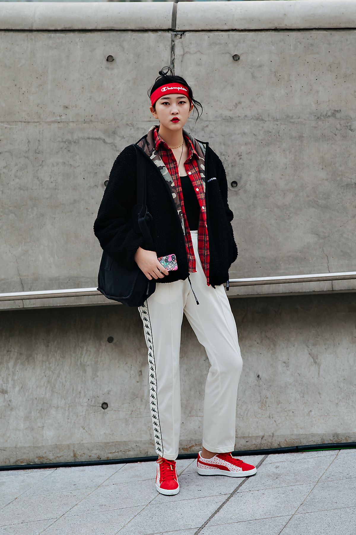 Baek Sebin, SEOUL FASHION WEEK STREETWEAR WOMENS 2018FW