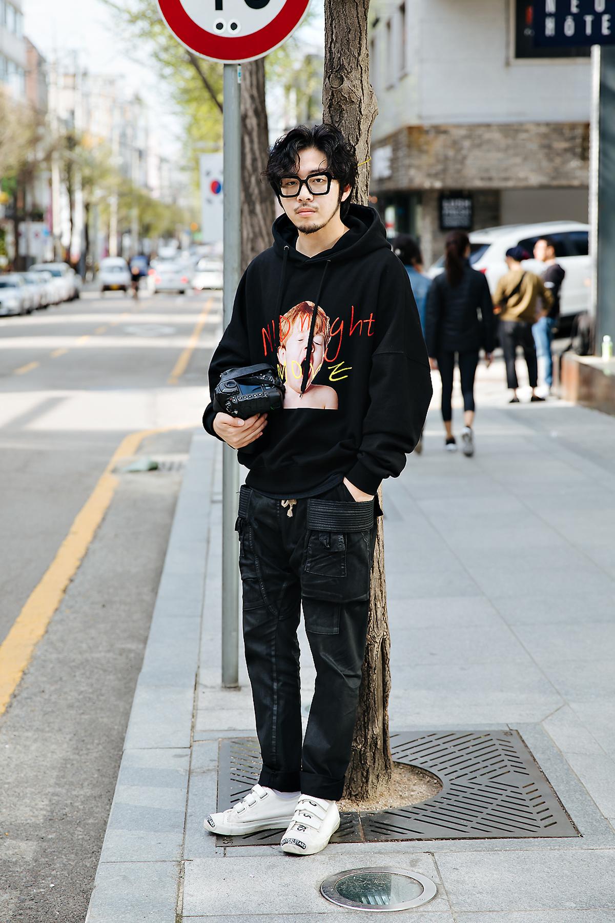 Cho Sungjun, Street style men spring 2018 inseoul