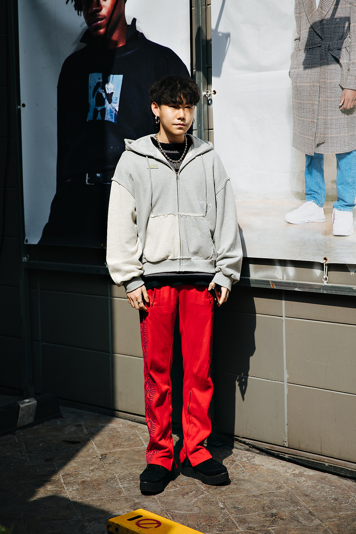 Cho Yul, Street style men spring 2018 inseoul