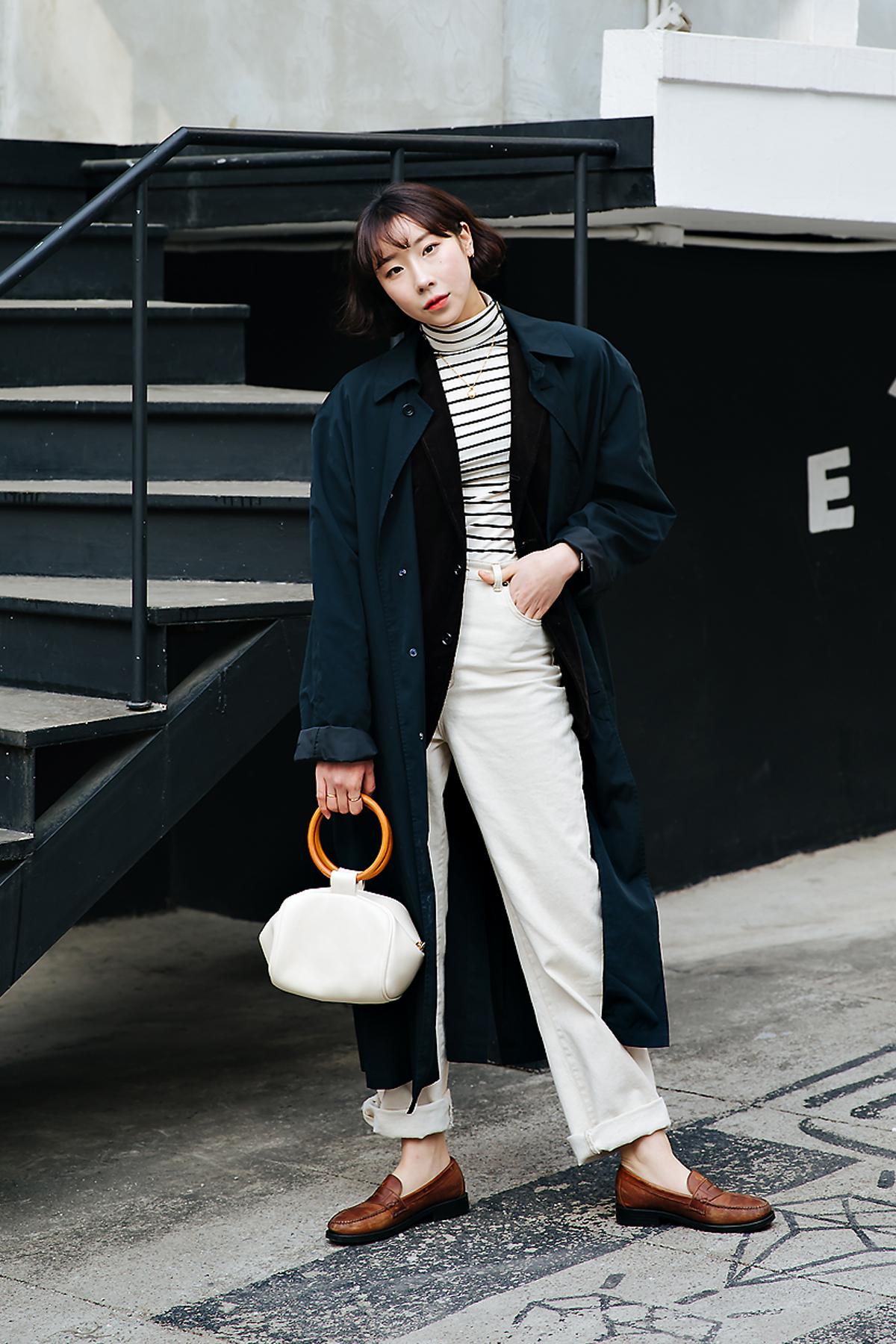 Choi Jiho, Street style women winter 2017-2018 inseoul