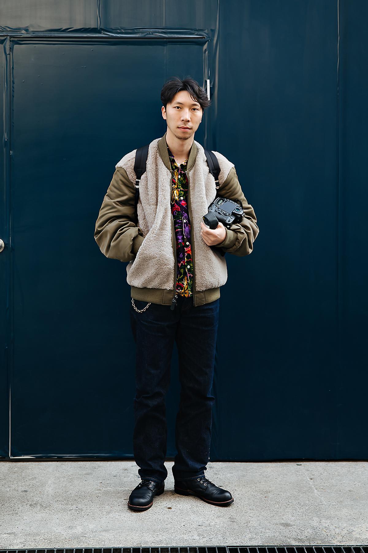 Choi Seungjum, Street style men winter 2017-2018 inseoul