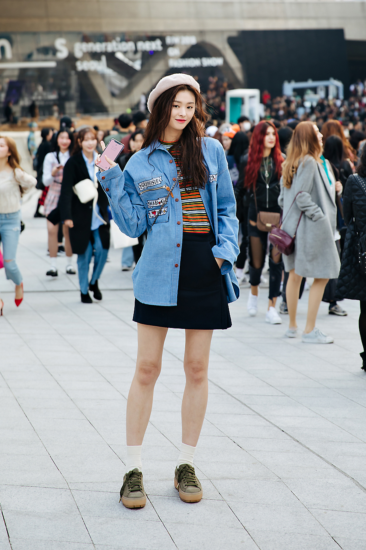 Choi Yoonyoung, SEOUL FASHION WEEK STREETWEAR WOMENS 2018FW