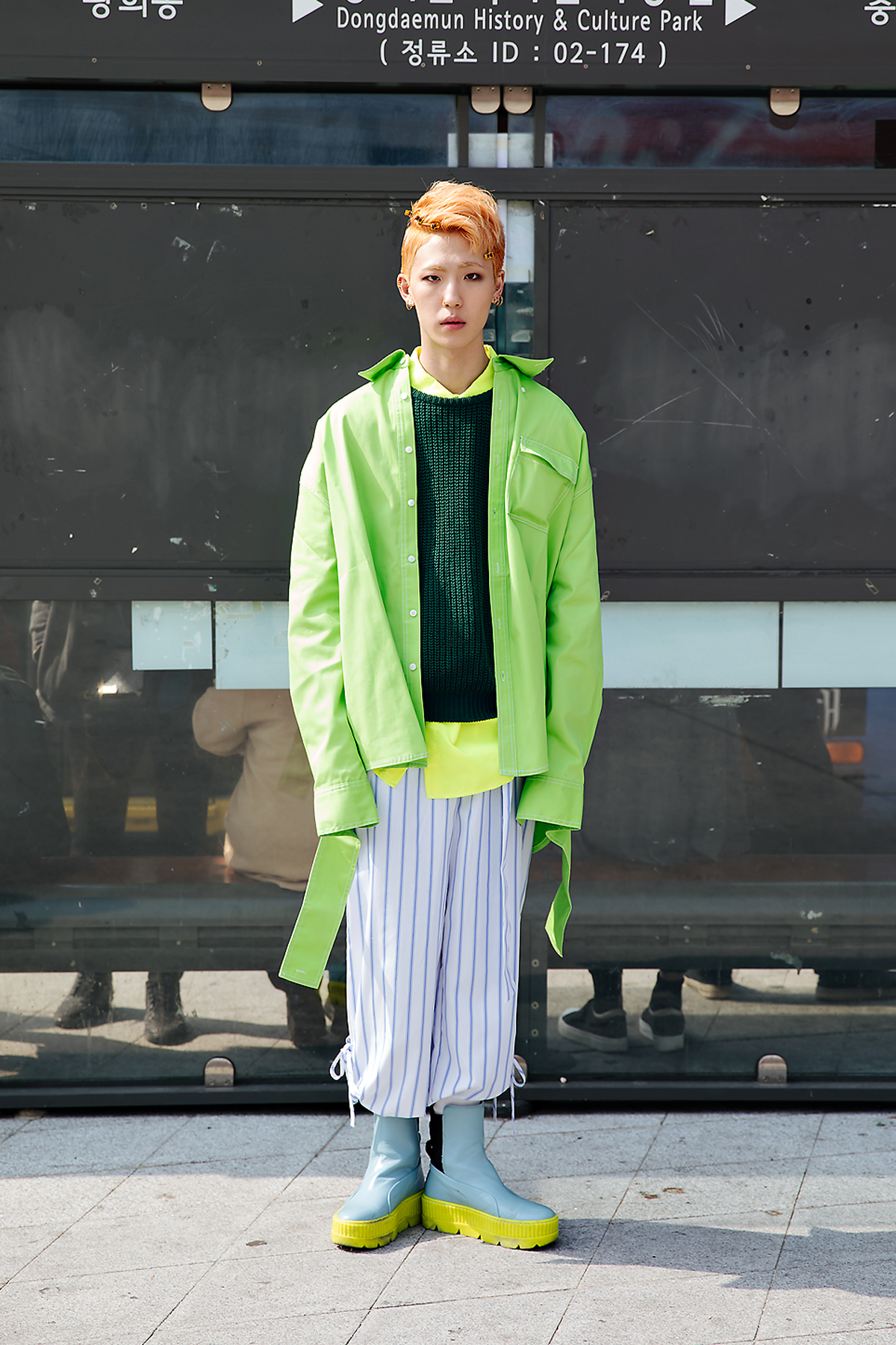 Eum Hyukjin, SEOUL FASHION WEEK STREETWEAR MENS 2018FW