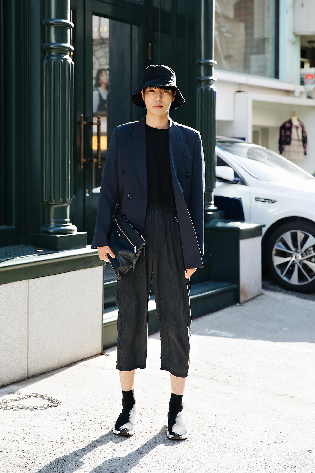 Gu Sineun, Street style men spring 2018 inseoul