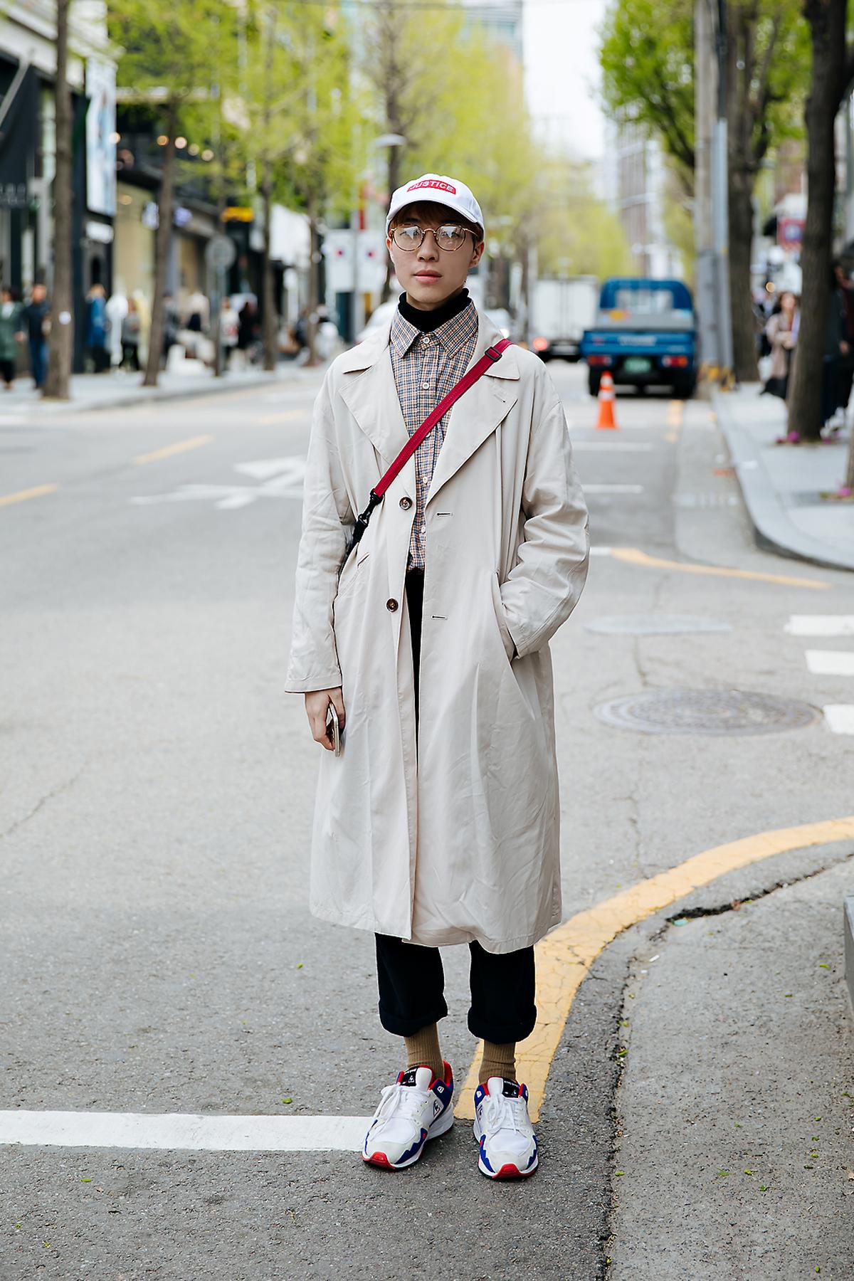 Gu Yulbi, Street style women spring 2018 in seoul