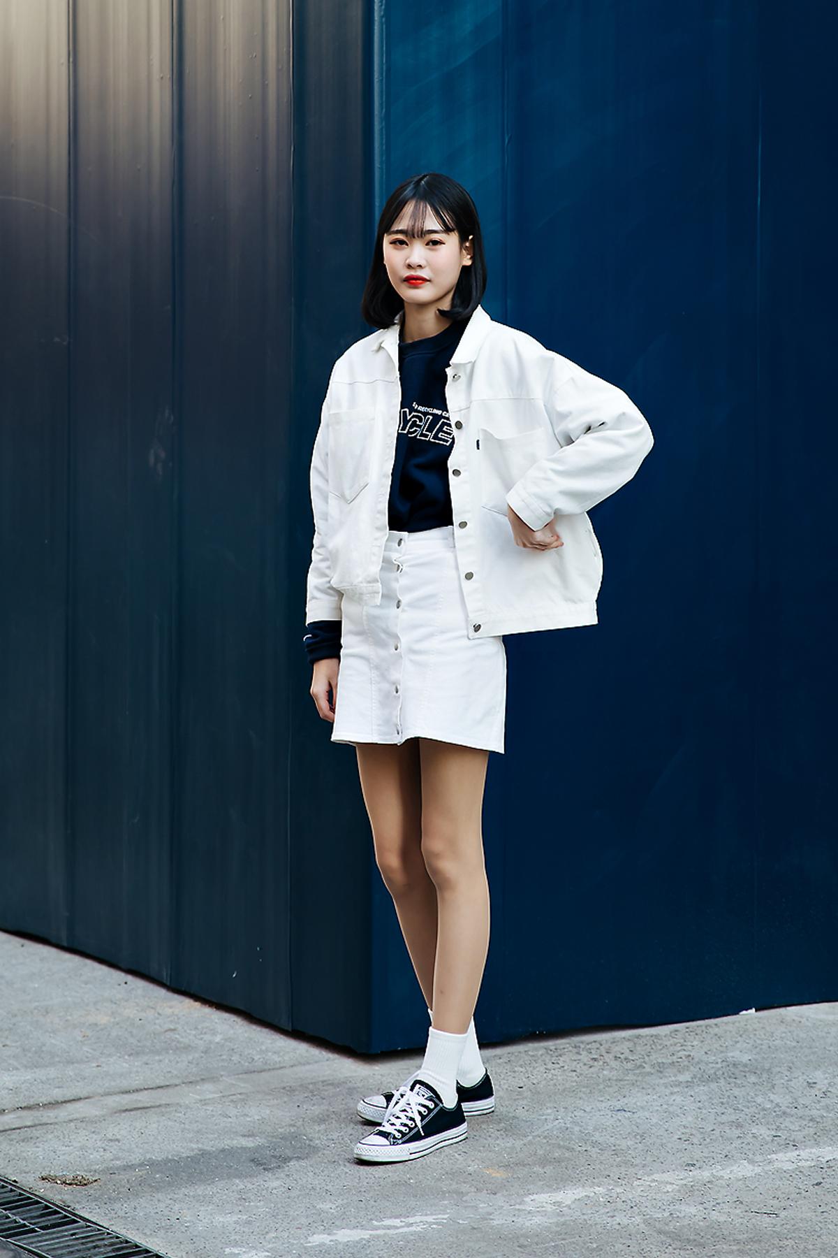 Han Seunghee, Street style women winter 2017-2018 inseoul