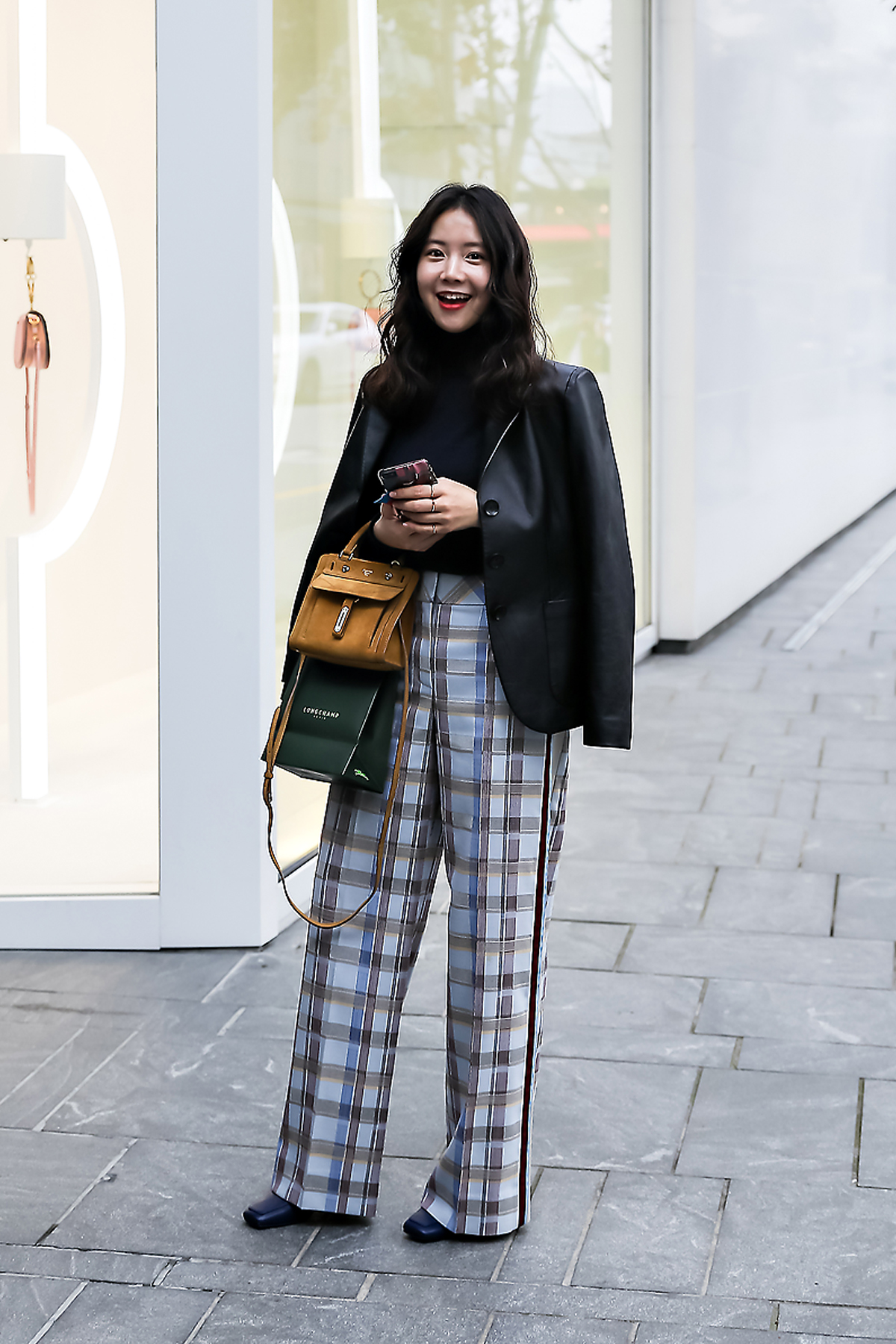 Han Yeona, Street style women spring 2018 in seoul