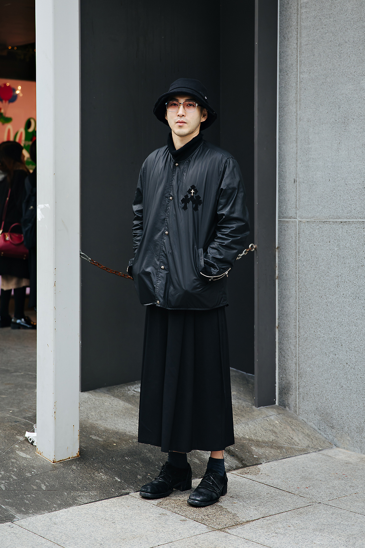 Hong Jaehyuk, Street style men spring 2018 inseoul