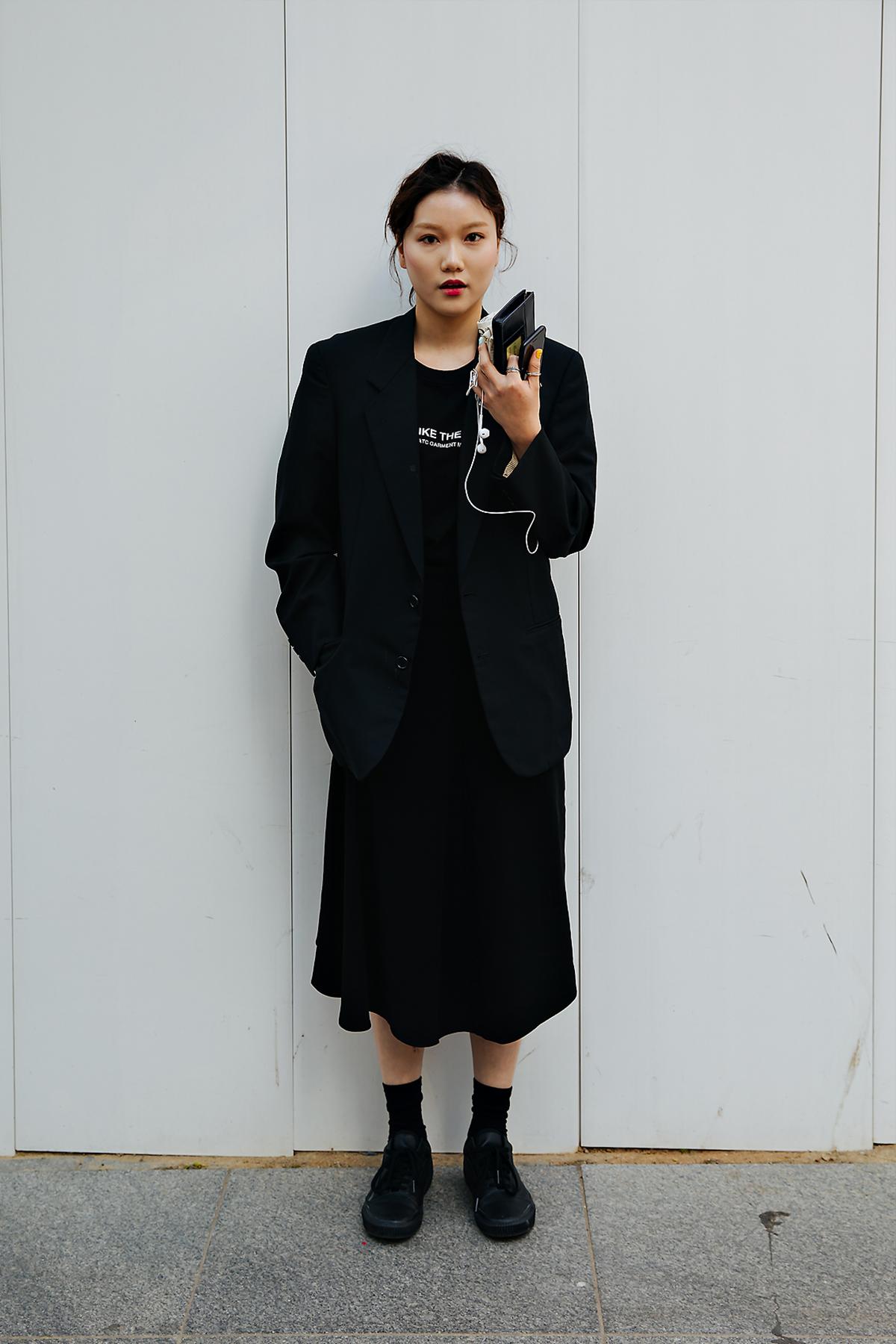 Hong Juri, Street style women spring 2018 in seoul
