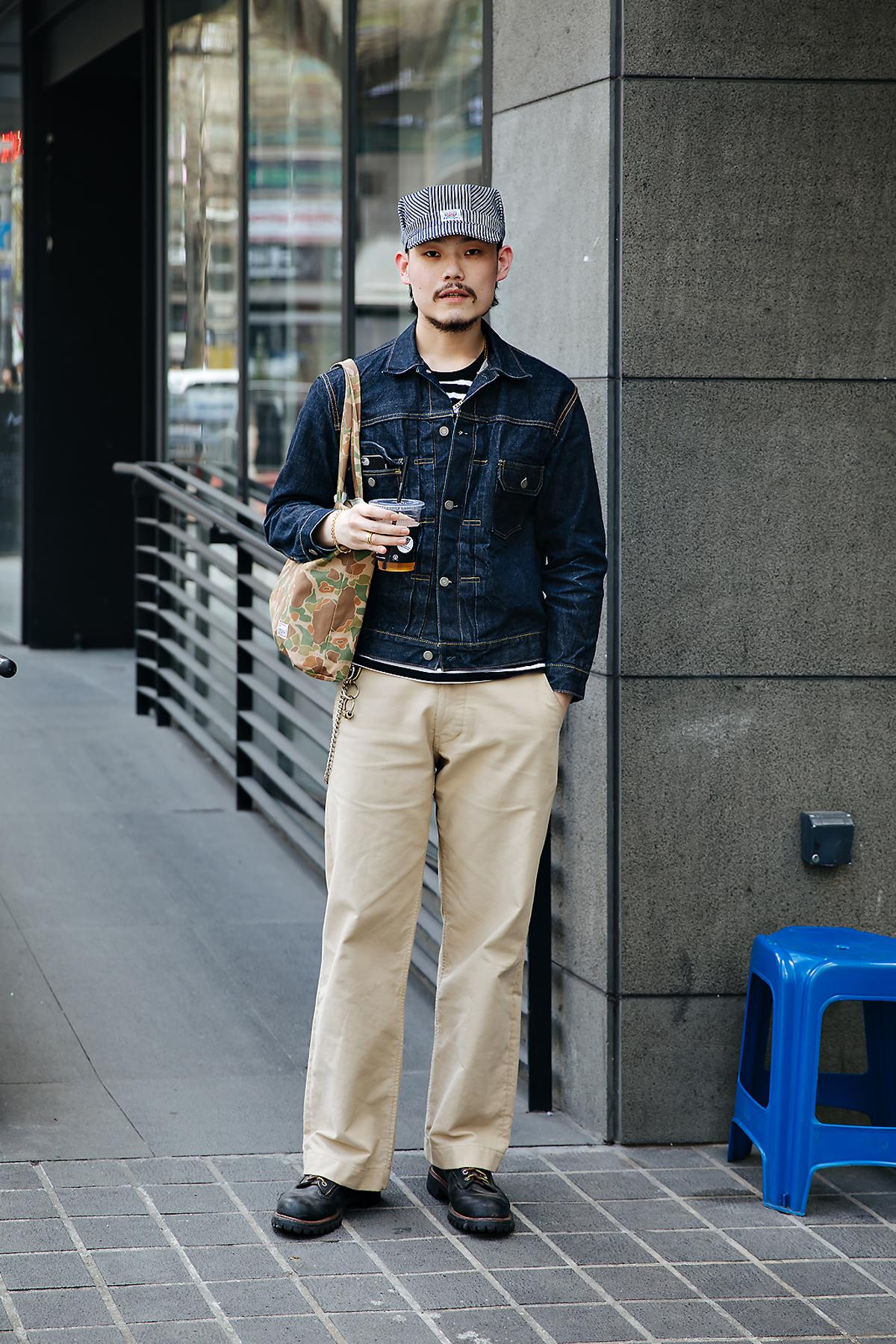 Hwang Namkyu, Street style men spring 2018 inseoul