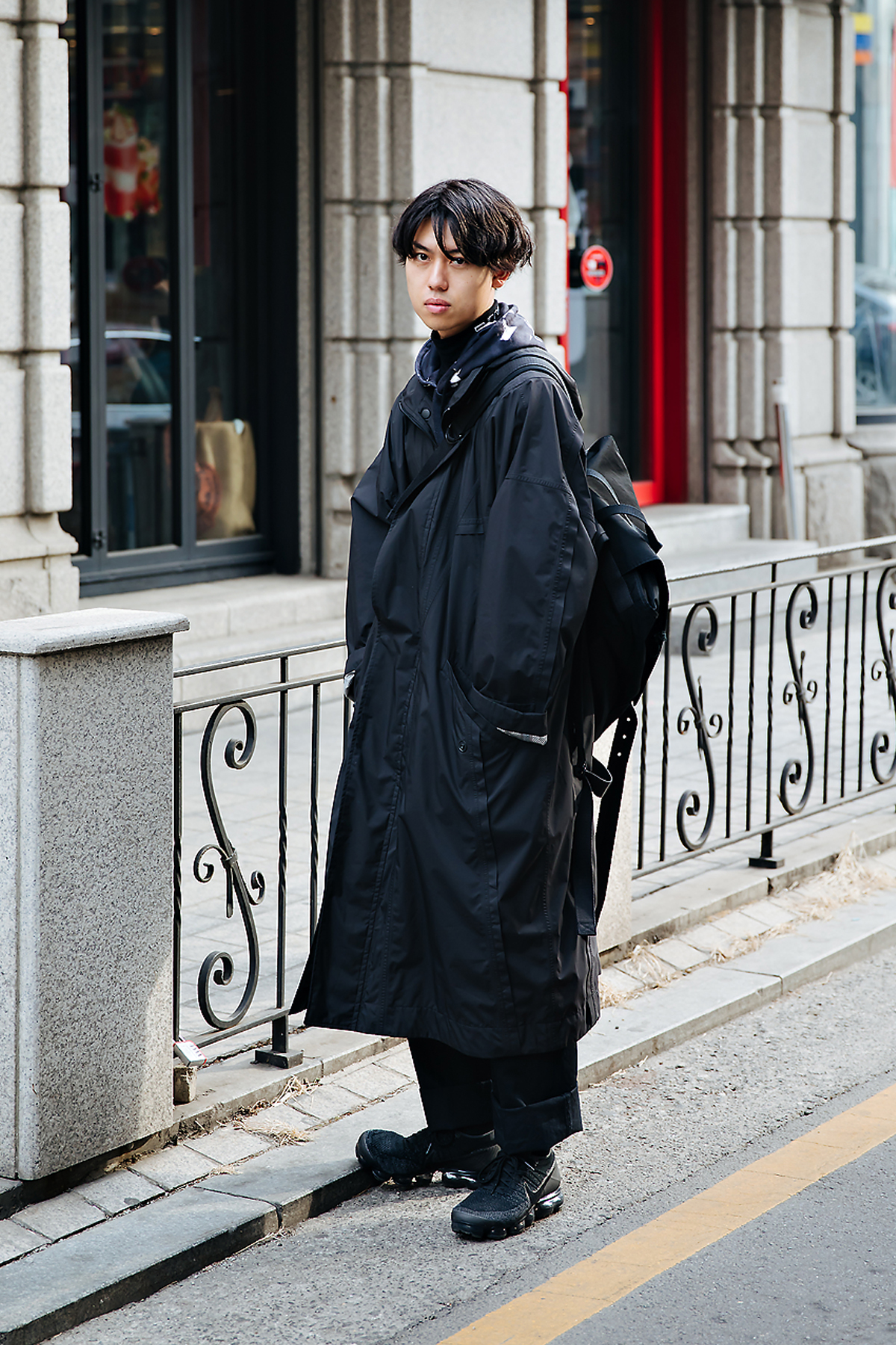 Inonno shota, Street style men winter 2017-2018 in seoul