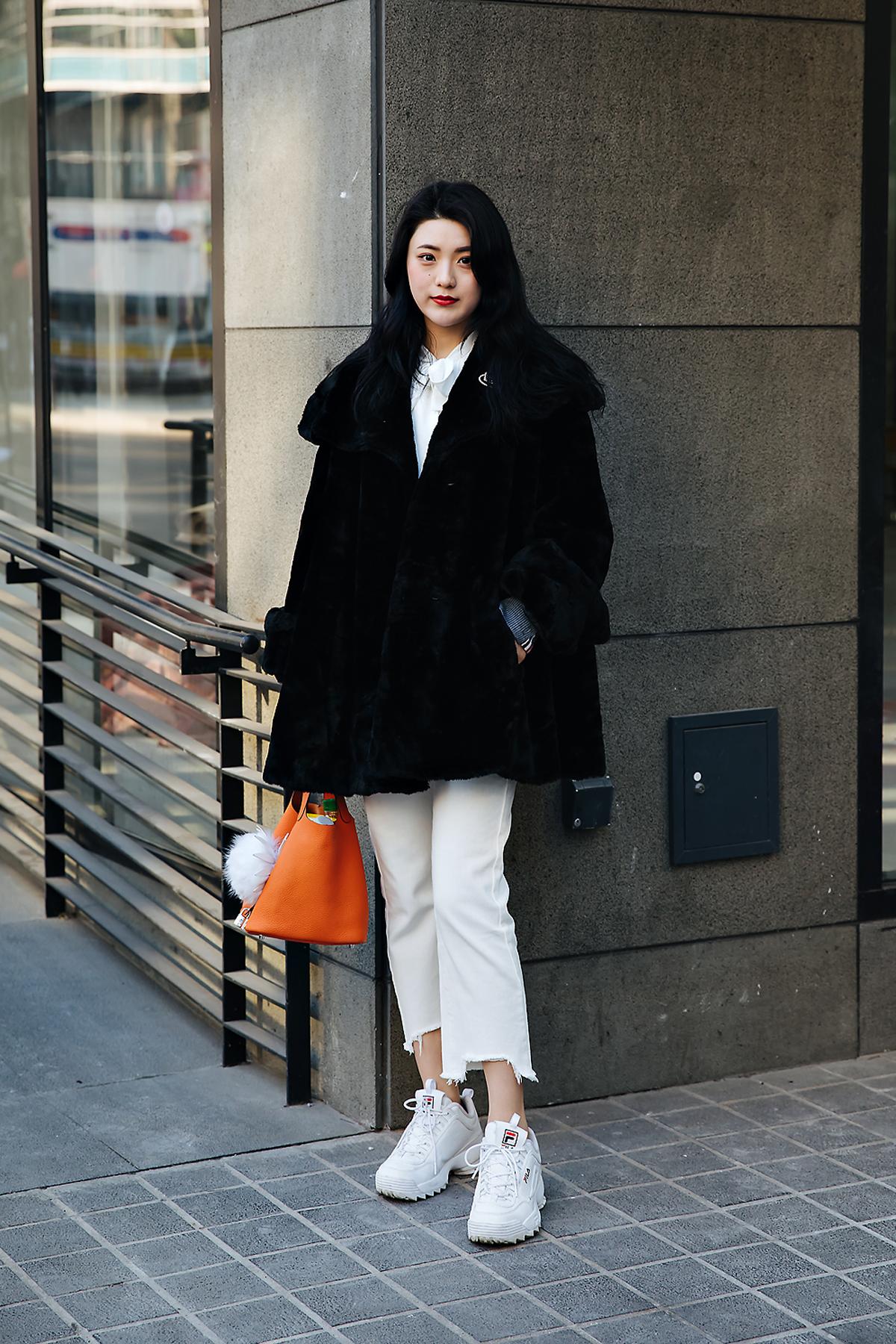 Jang Yimoon, Street style women winter 2017-2018 inseoul