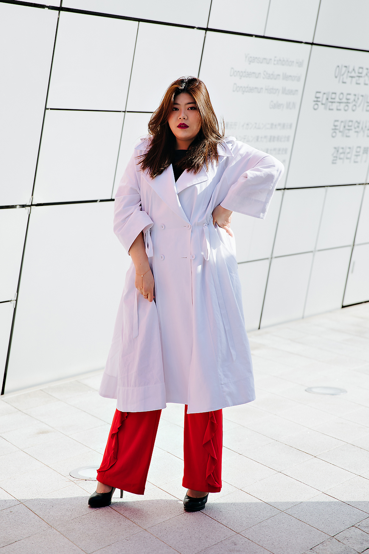 Jeon Gayoung, SEOUL FASHION WEEK STREETWEAR WOMENS 2018FW