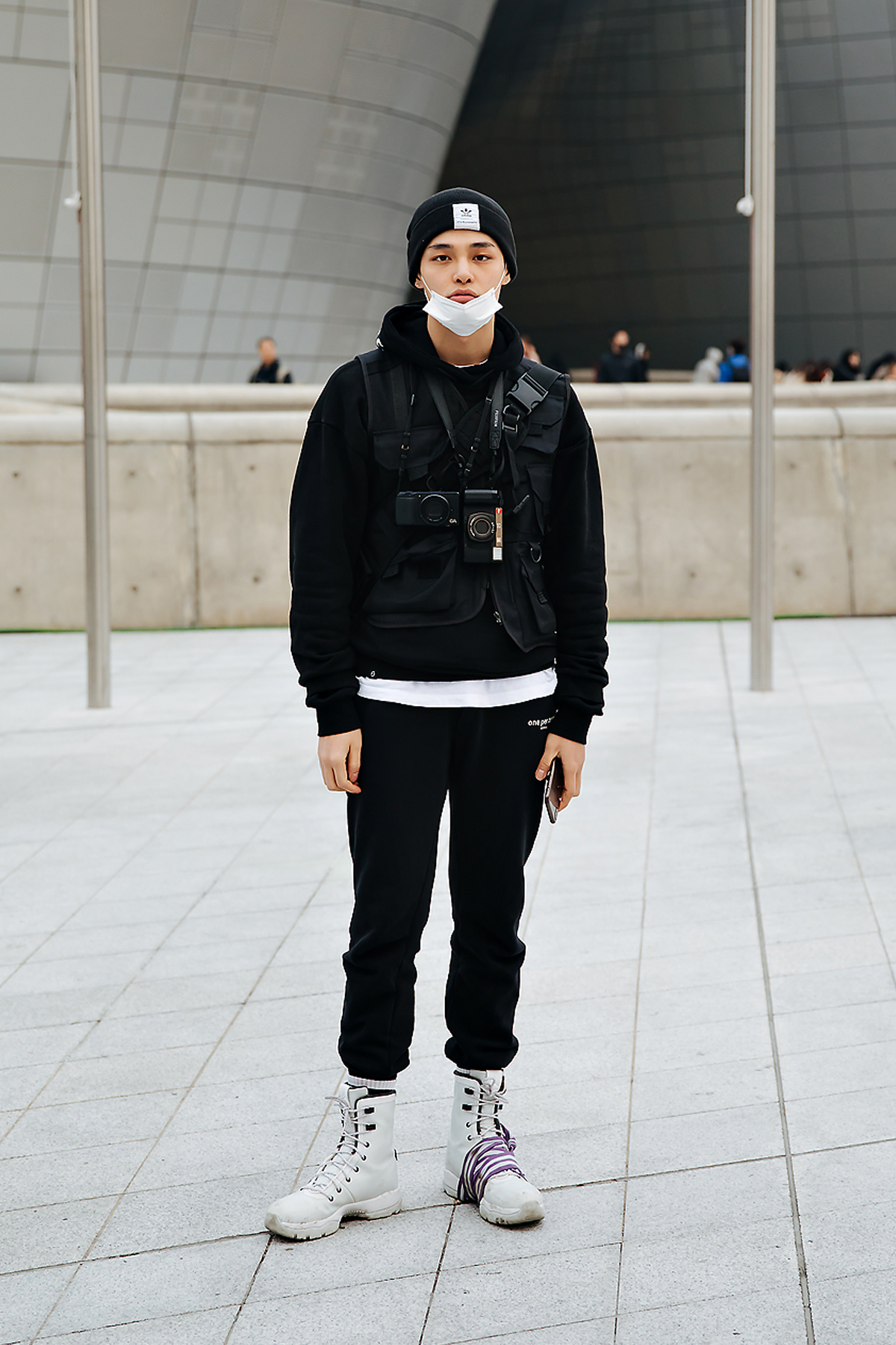 Jung Hyuk, SEOUL FASHION WEEK STREETWEAR MENS 2018FW