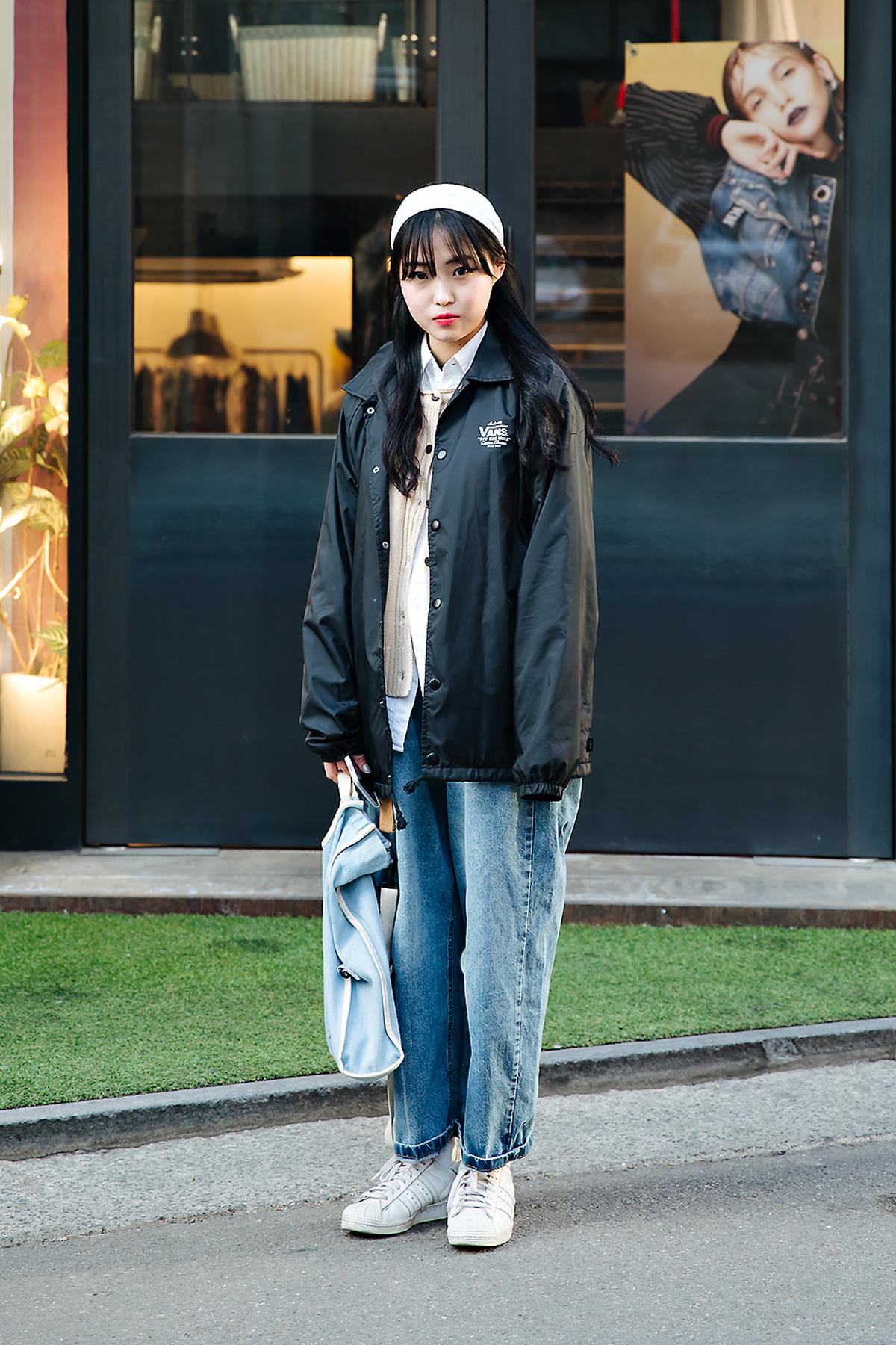 Jung Jimin, Street style women winter 2017-2018 inseoul