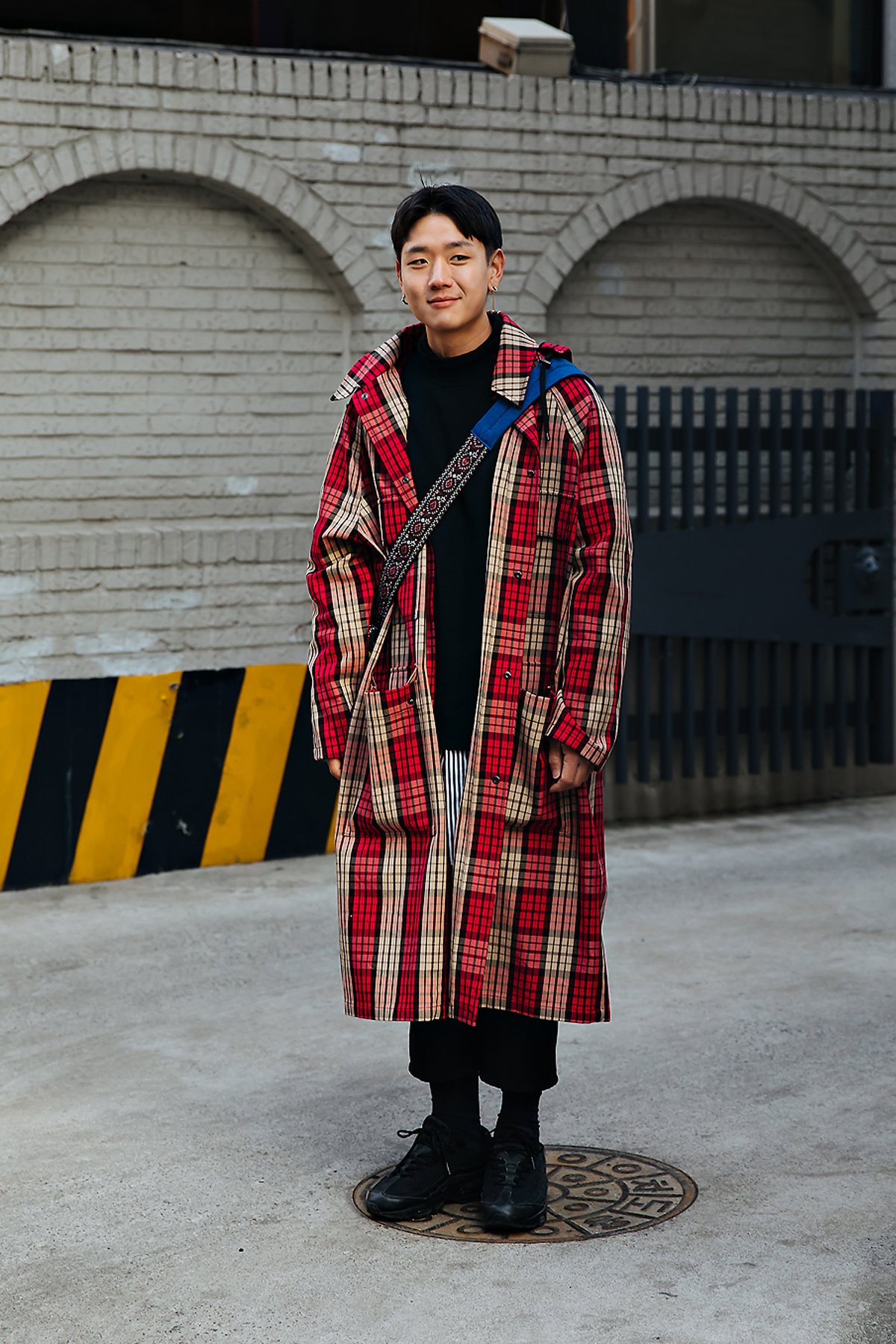Jung Yeonjin, Street style men winter 2017-2018 in seoul