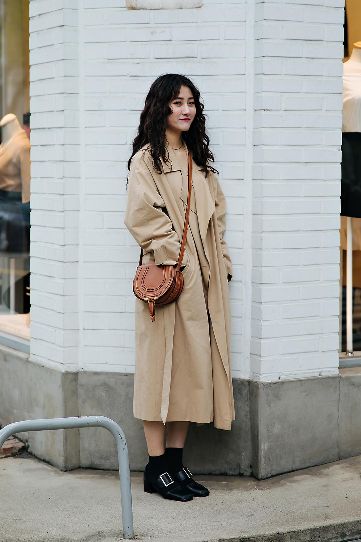 Kang Seungyeon, Street style women spring 2018 in seoul