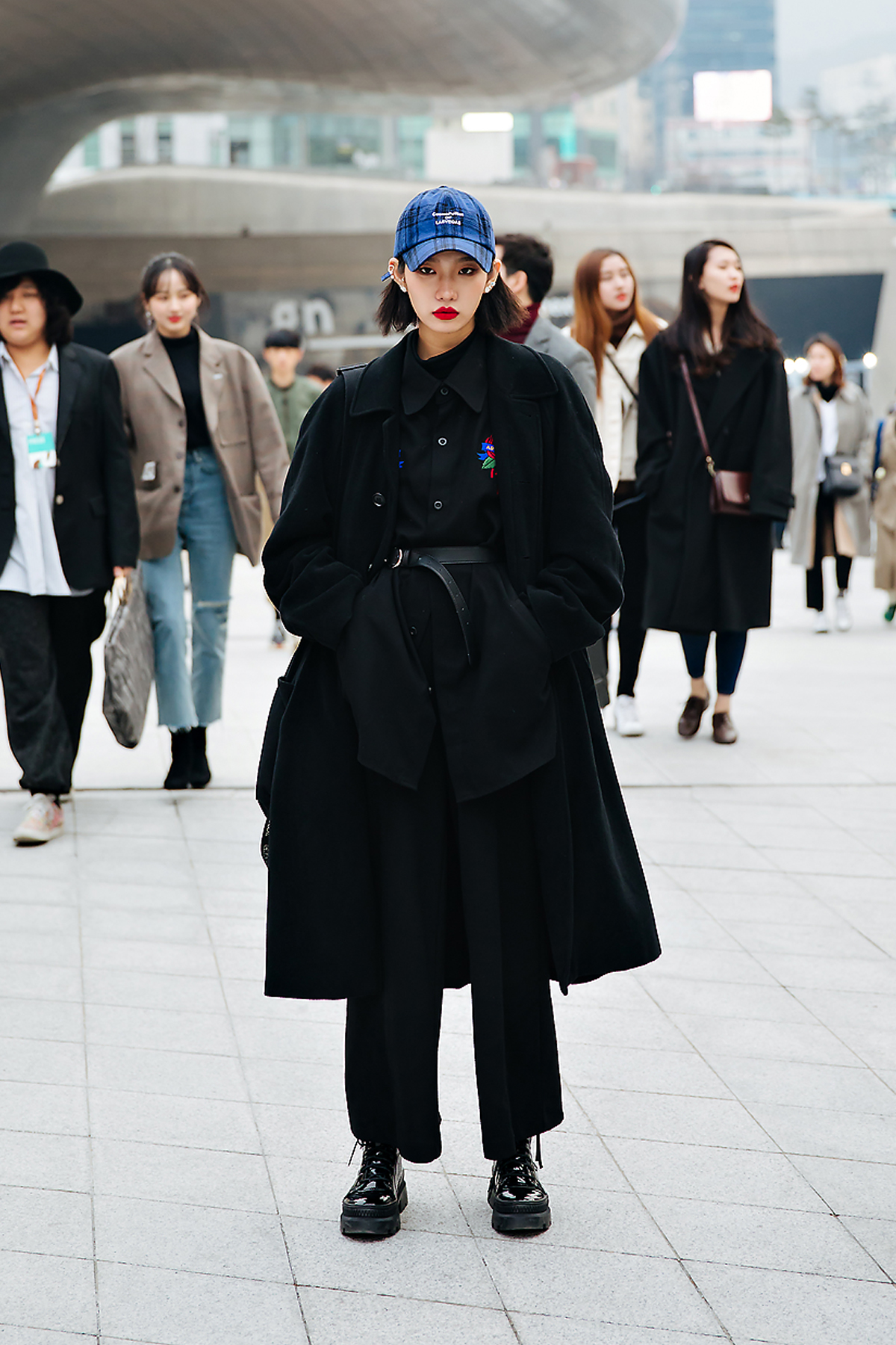 Kim Bomi, SEOUL FASHION WEEK STREETWEAR WOMENS 2018FW