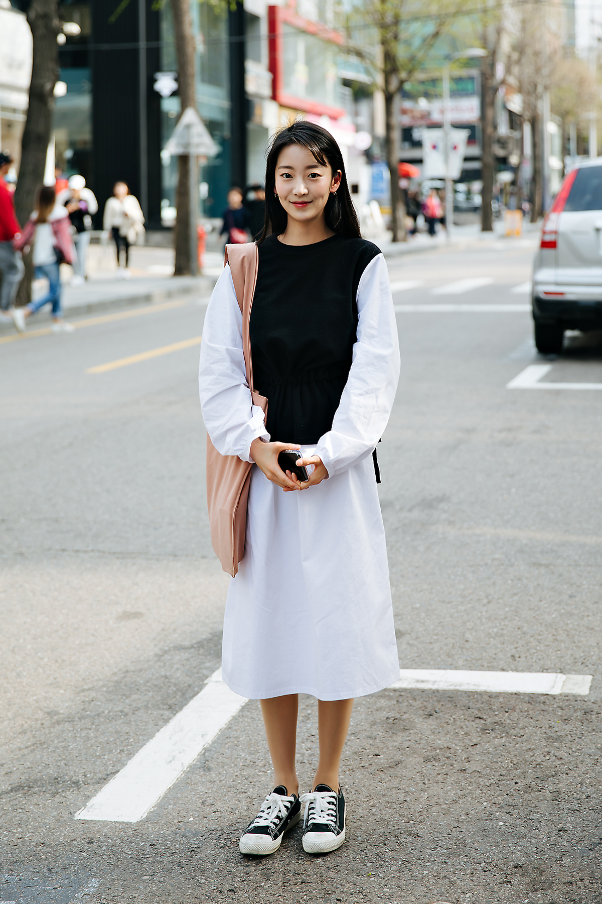 Kim Chaehee, Street style women spring 2018 in seoul