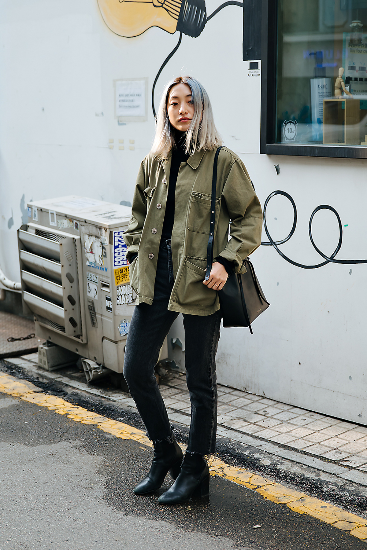 Kim Dahye, Street style women spring 2018 in seoul