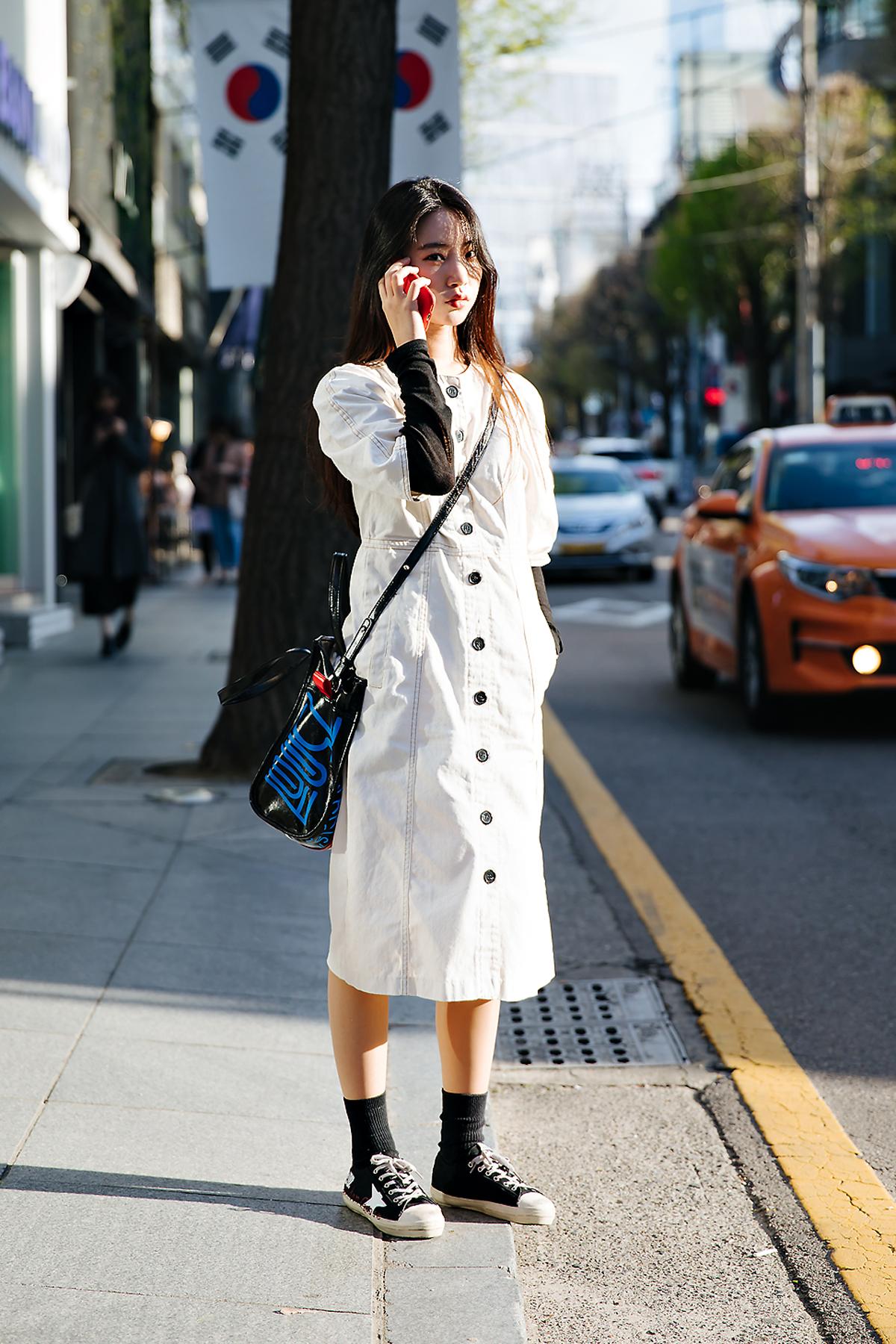 Kim Harim, Street style women spring 2018 in seoul