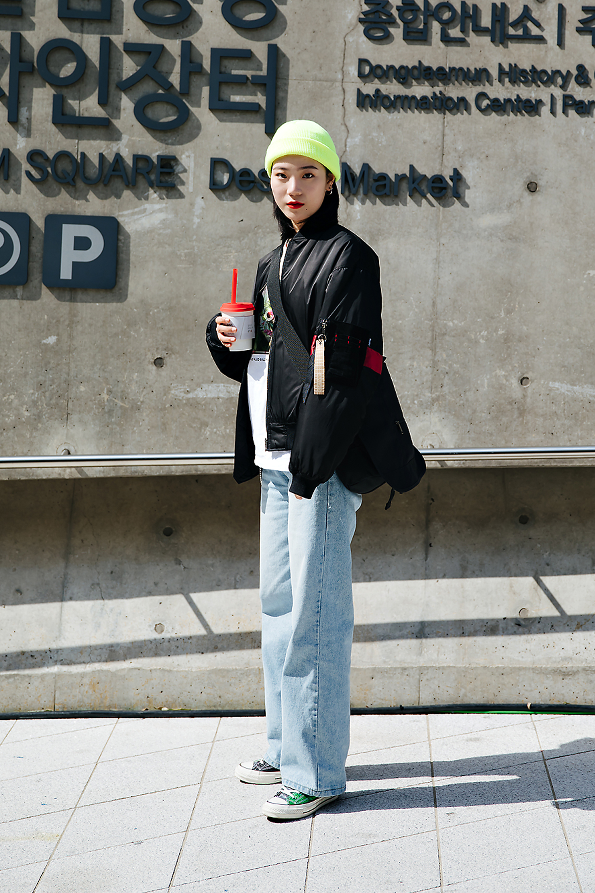 Kim Heejin, SEOUL FASHION WEEK STREETWEAR WOMENS 2018FW