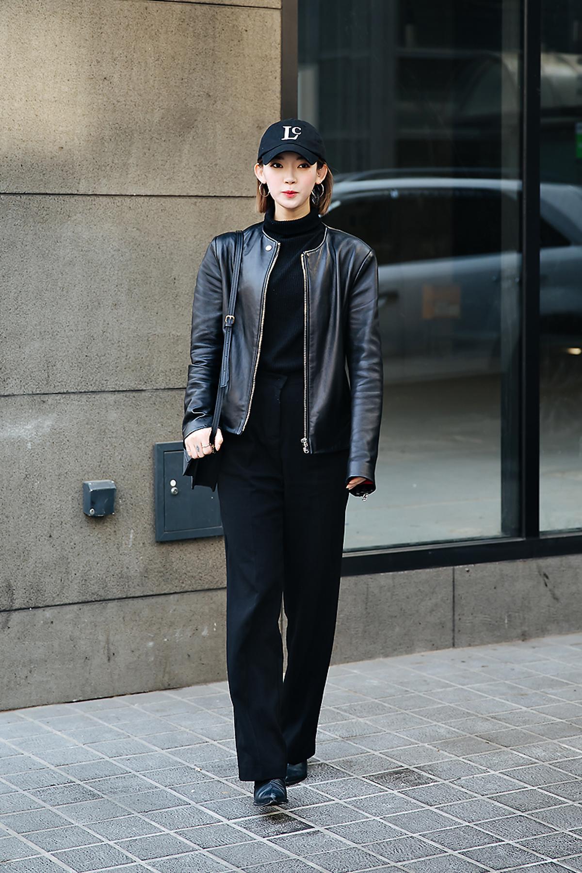 Kim Hyunji, Street style women winter 2017-2018 inseoul