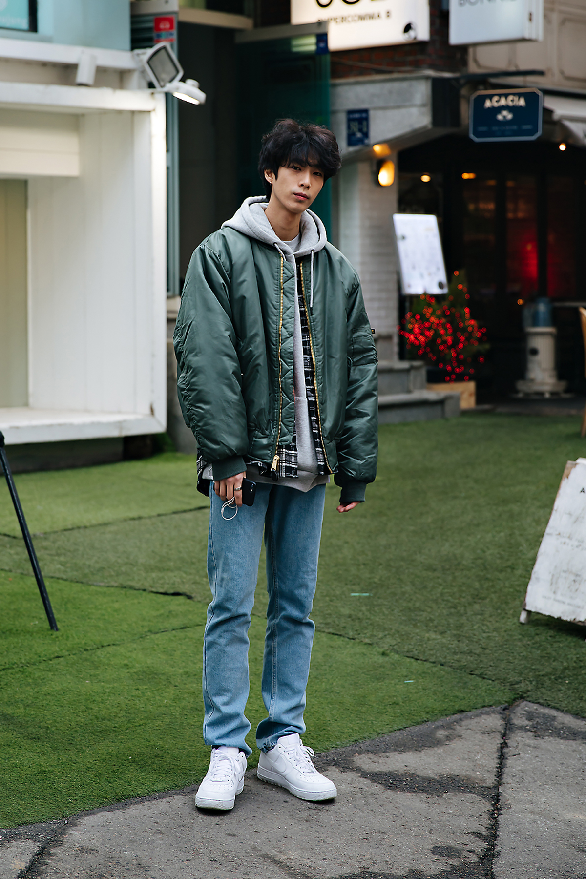 Kim Junyoung, Street style men winter 2017-2018 in seoul