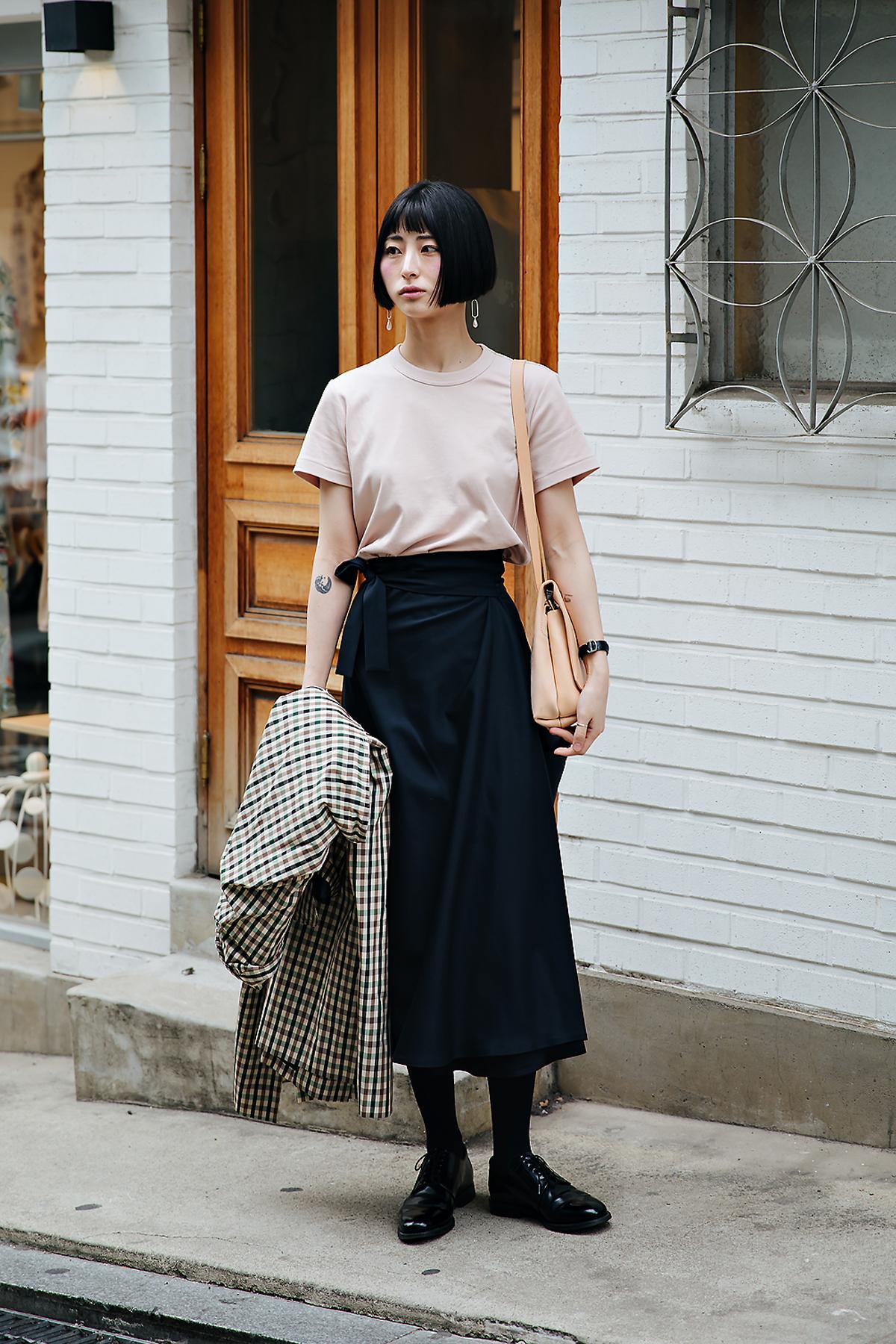 Kim Songyi, Street style women spring 2018 in seoul