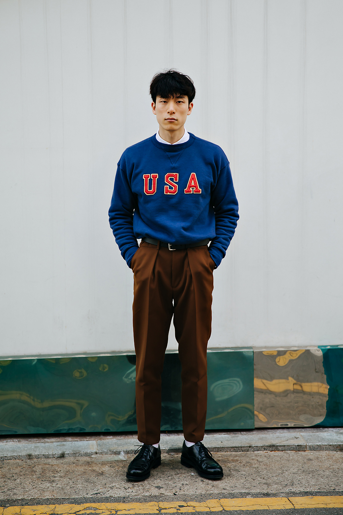 Kim Sungon, Street style men spring 2018 in seoul