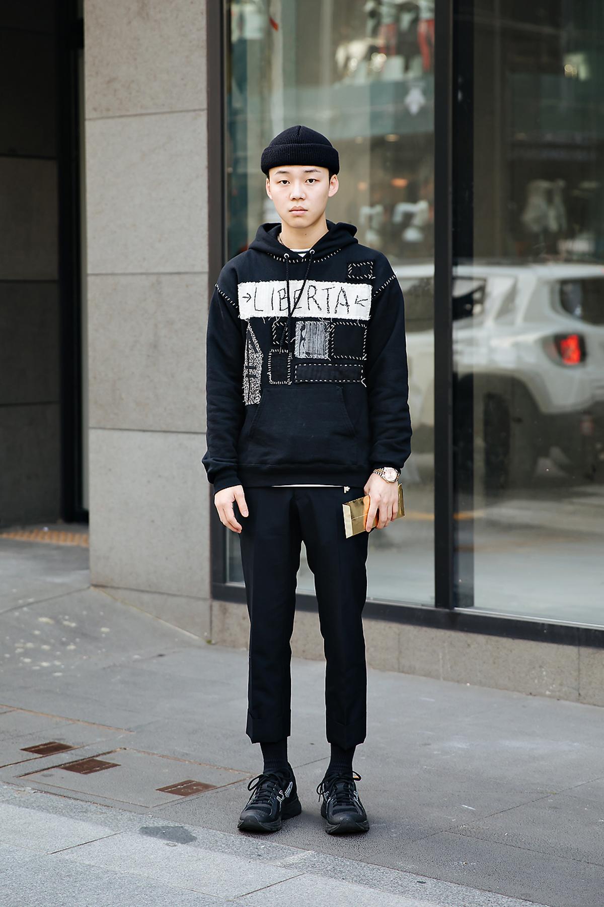 Kim Wanyo, Street style men spring 2018 inseoul
