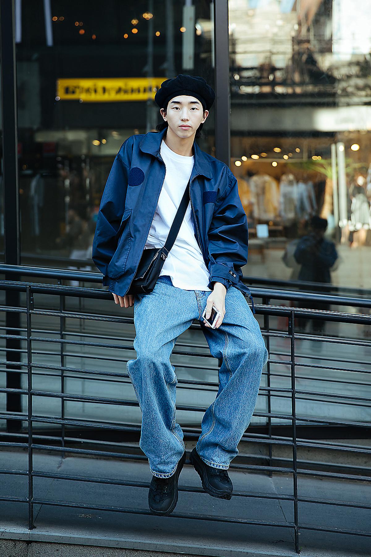 Kim Wonki, Street style men spring 2018 inseoul