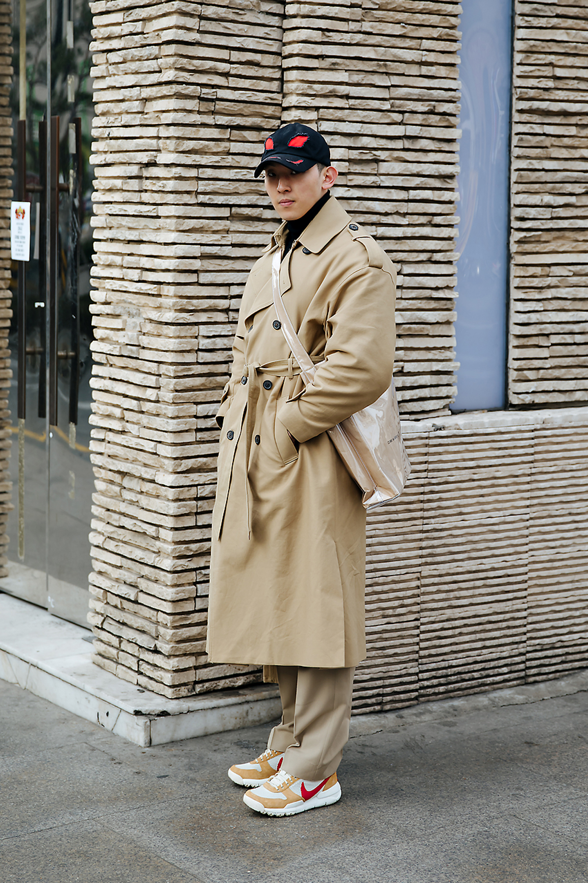 Kwon Hyukeun, Street style men winter 2017-2018 in seoul