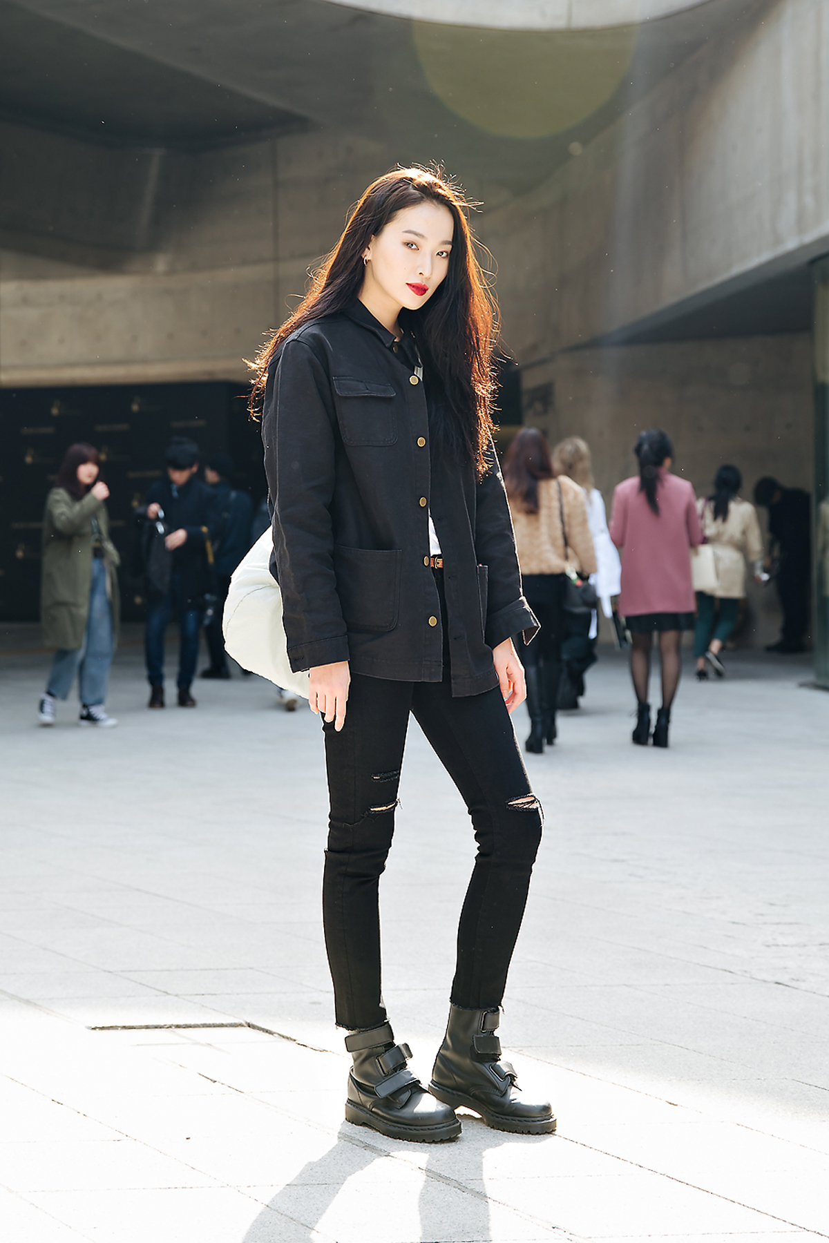Kwon Saem, SEOUL FASHION WEEK STREETWEAR WOMENS 2018FW