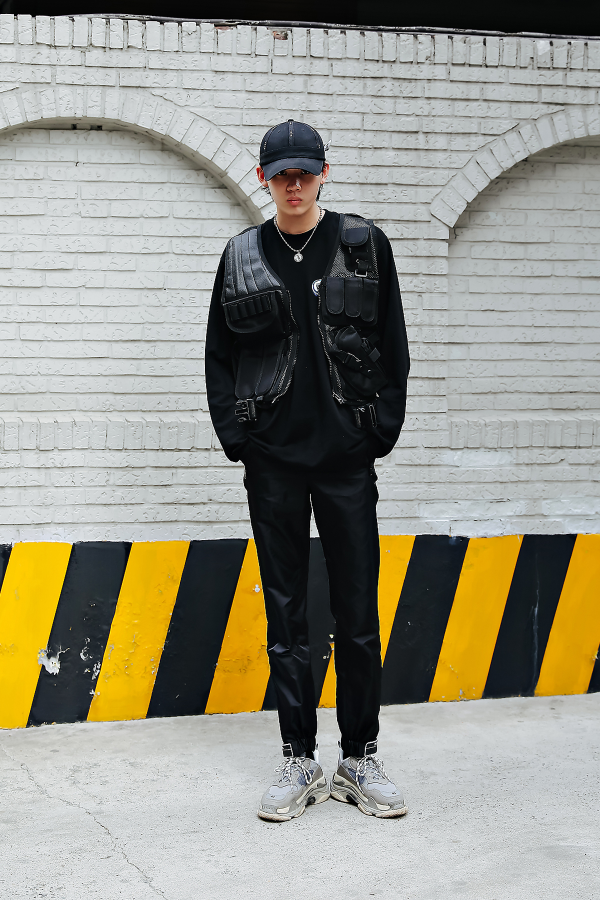 Lee Chisin, Street style men spring 2018 inseoul