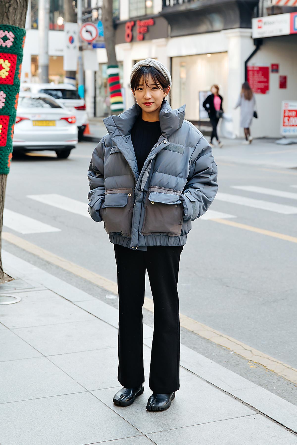 Lee Dasom, Street style women winter 2017-2018 inseoul