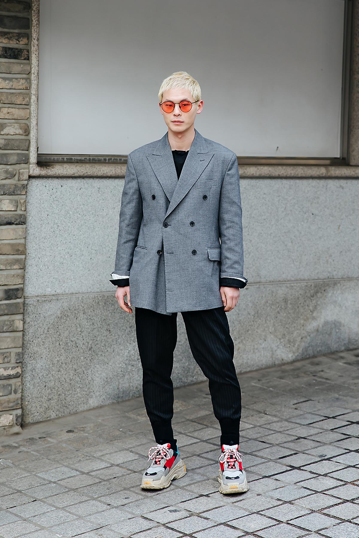 Lee Jongsun, Street style men spring 2018 inseoul
