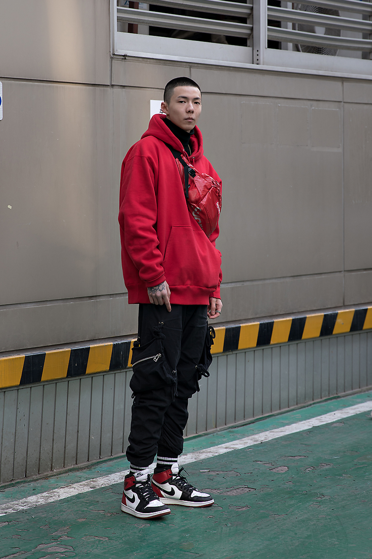 Leslie, Street style men winter 2017-2018 in seoul