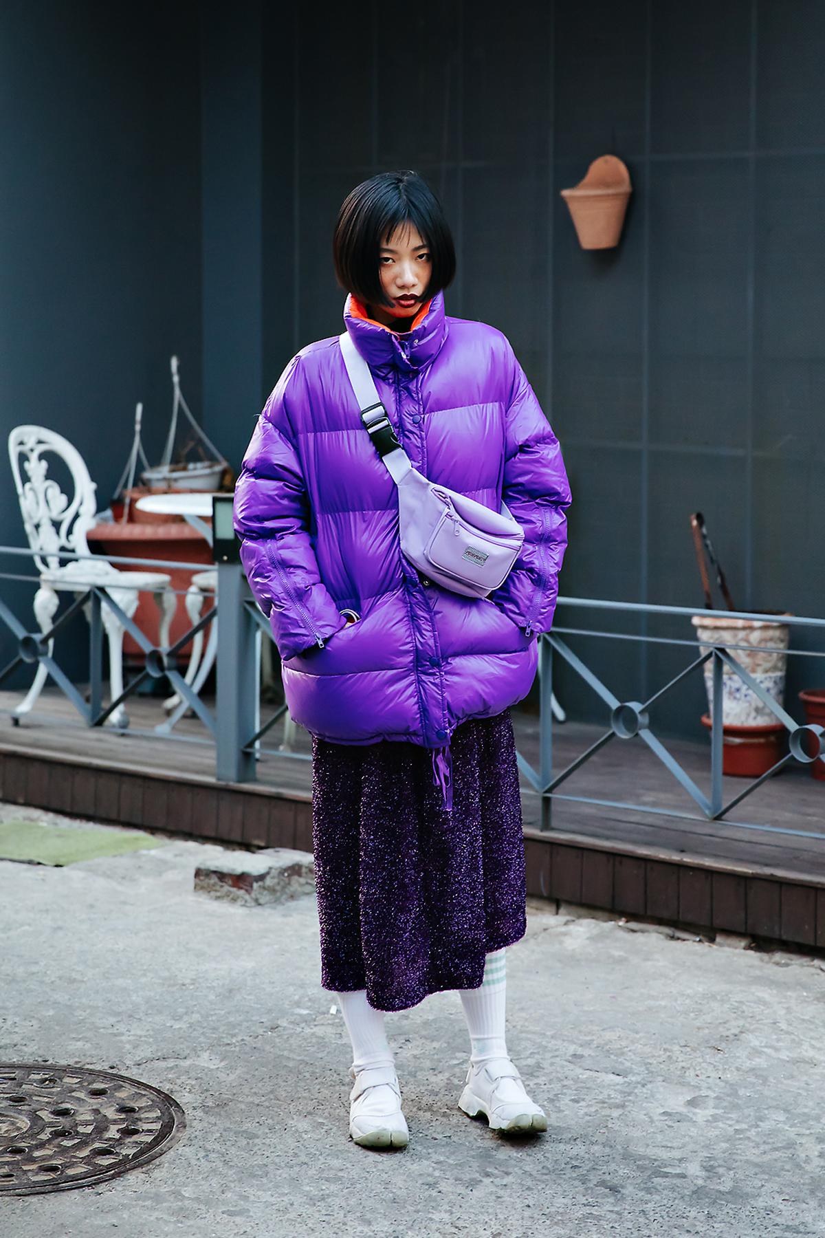 li yuanting, Street style women winter 2017-2018 inseoul