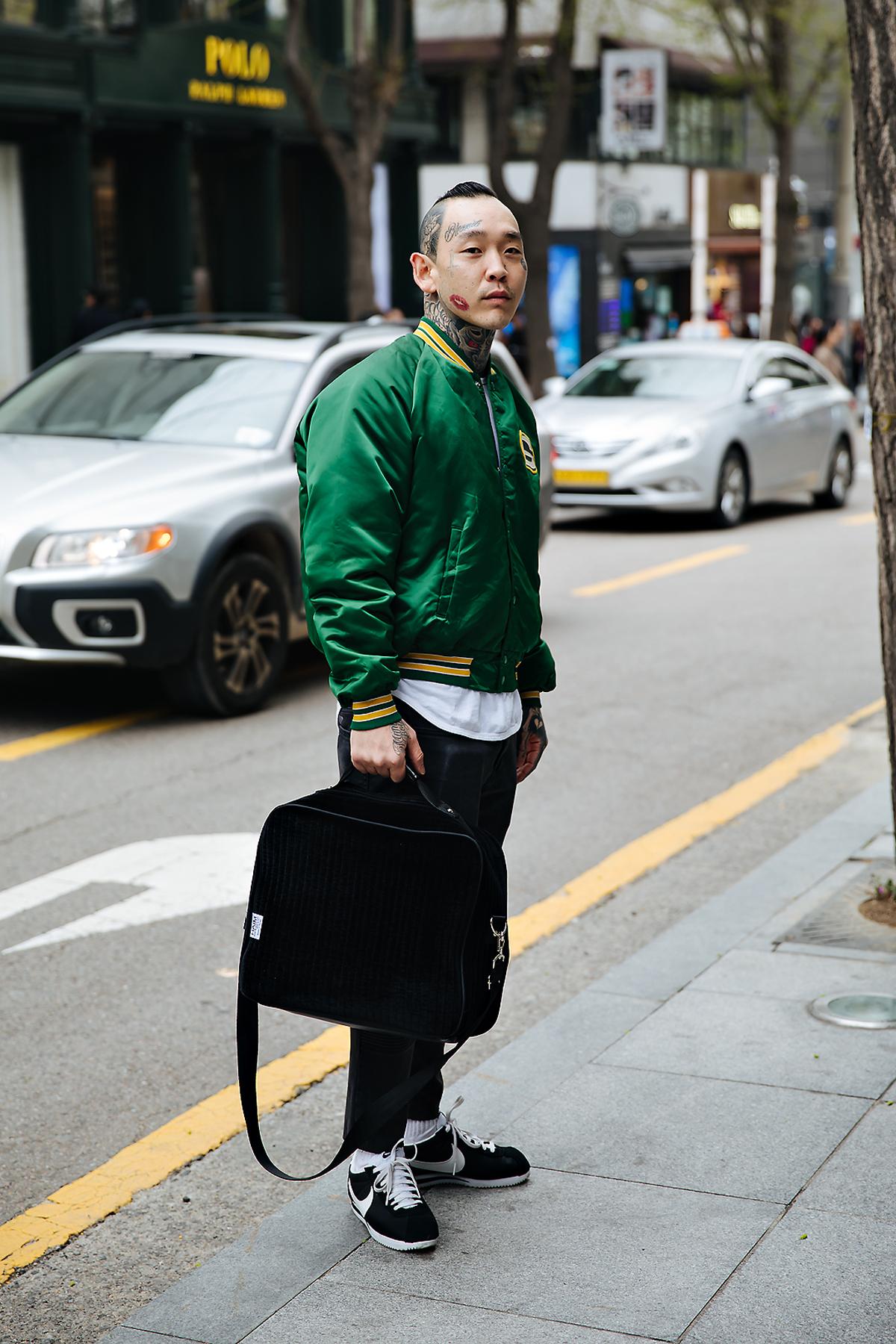 Los, Street style men spring 2018 inseoul