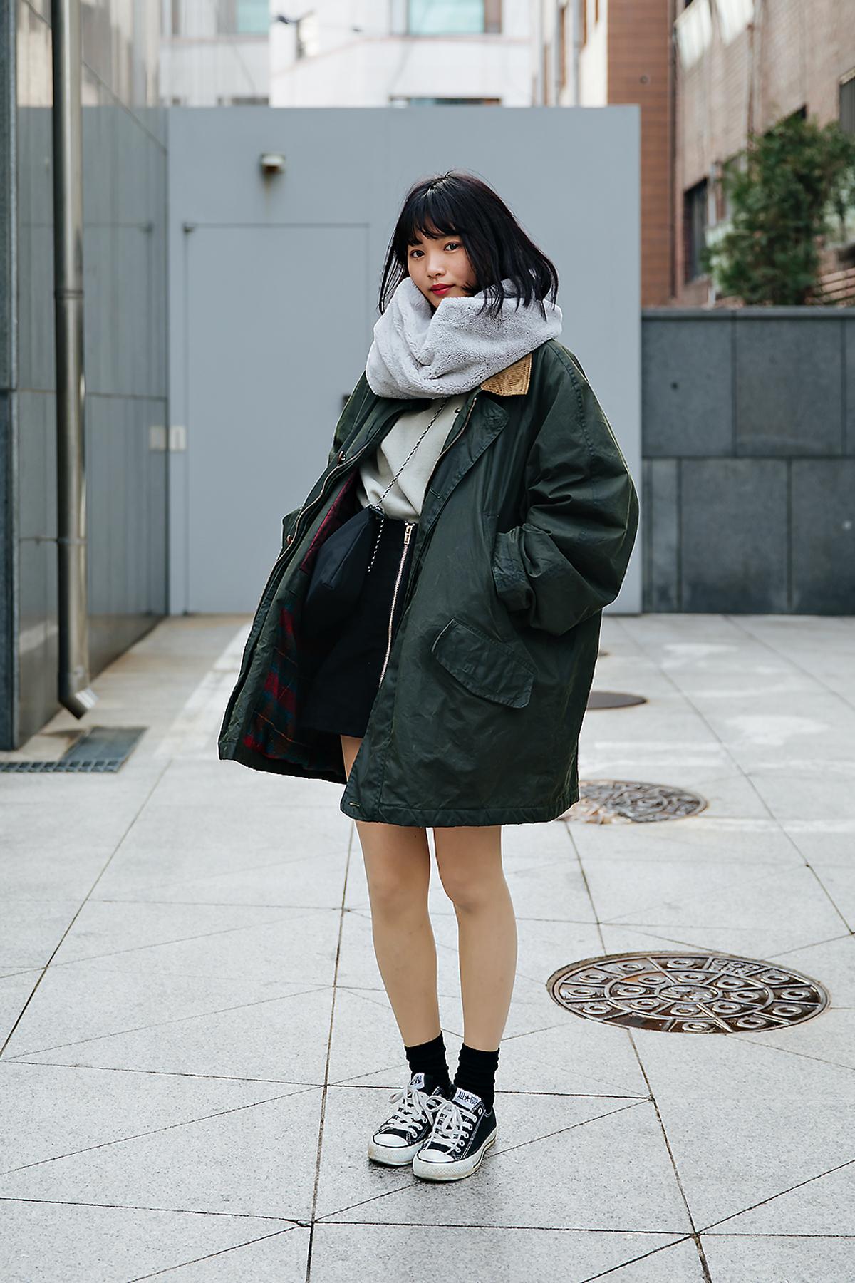 Manami Yamada, Street style women spring 2018 in seoul