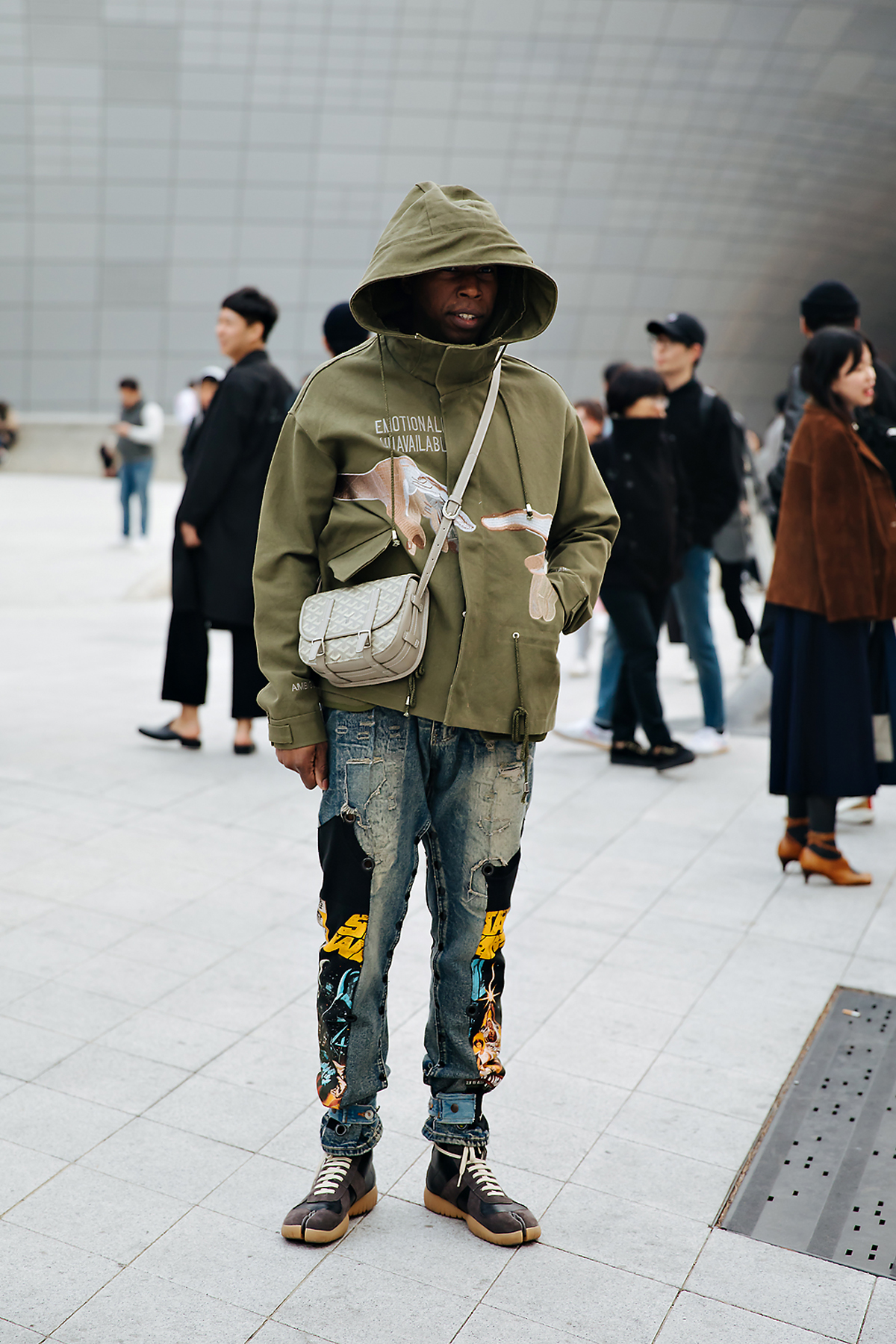 SEOUL FASHION WEEK STREETWEAR MENS 2018FW