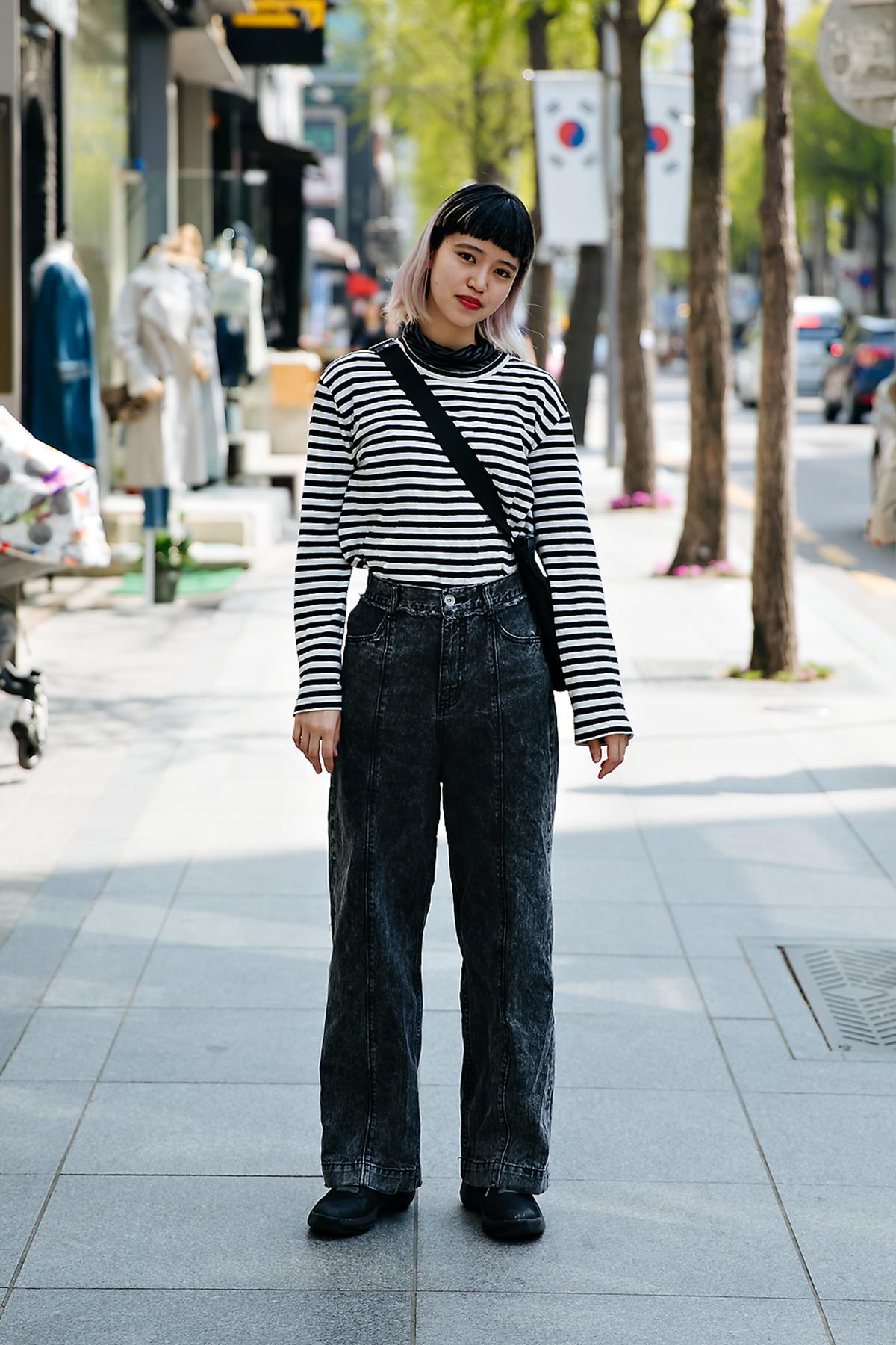 Meiqi Li, Street style women spring 2018 in seoul