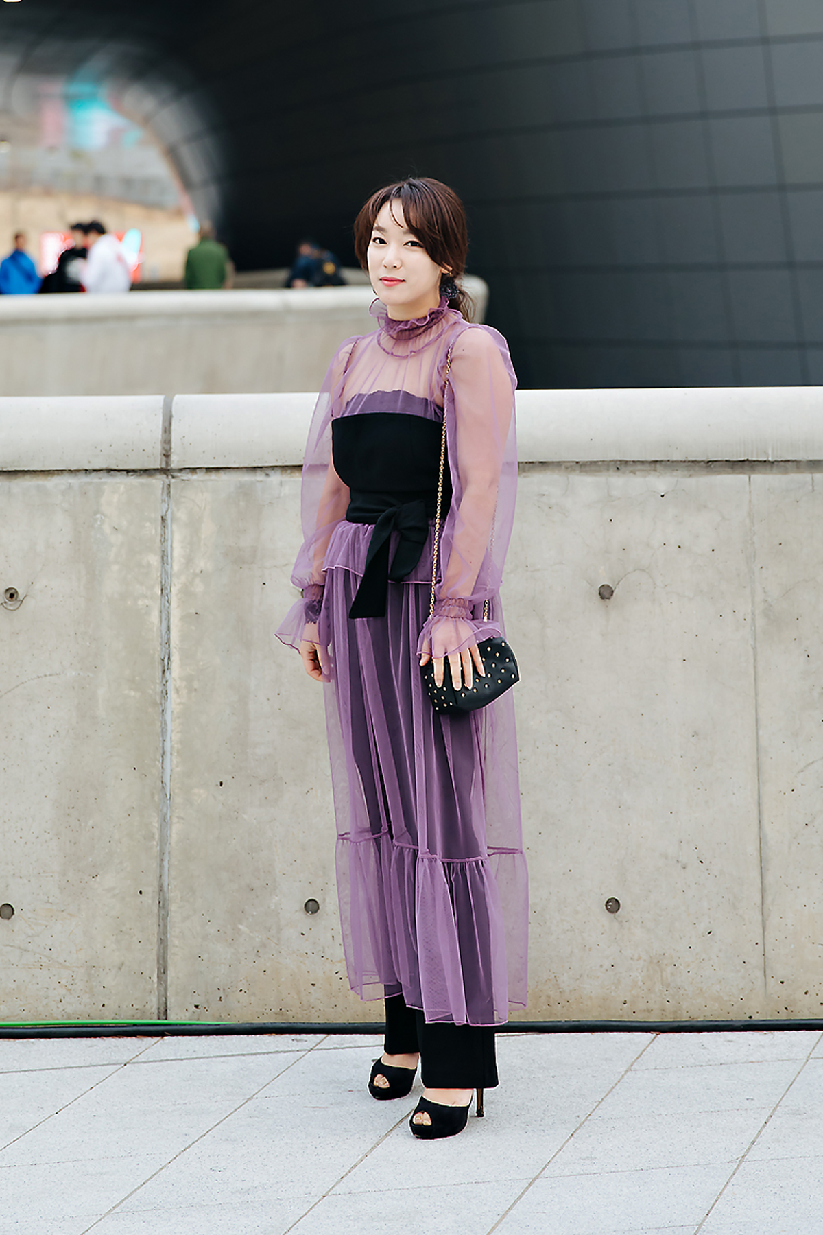 Min Boram, SEOUL FASHION WEEK STREETWEAR WOMENS 2018FW