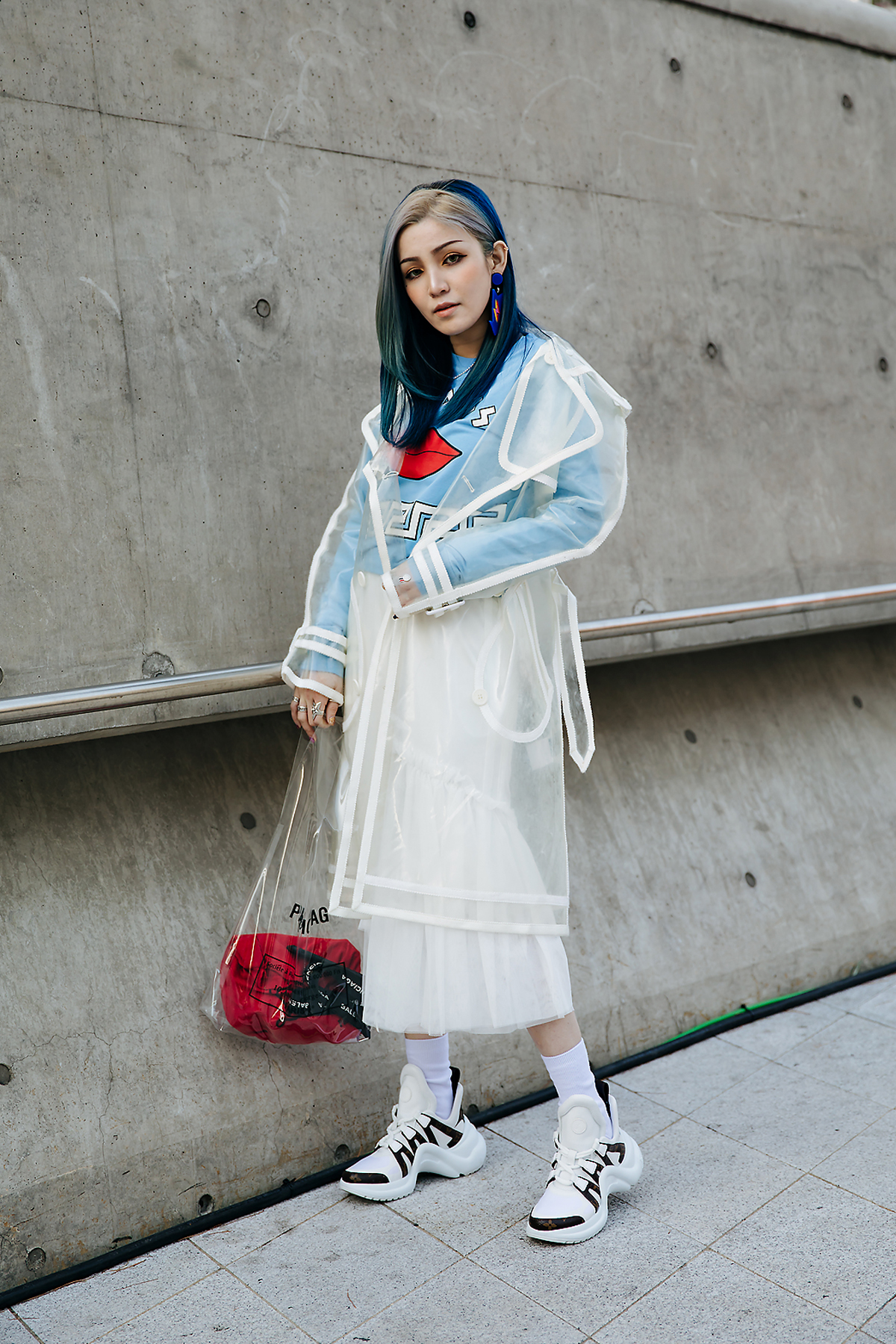 Nico lesage, SEOUL FASHION WEEK STREETWEAR WOMENS 2018FW