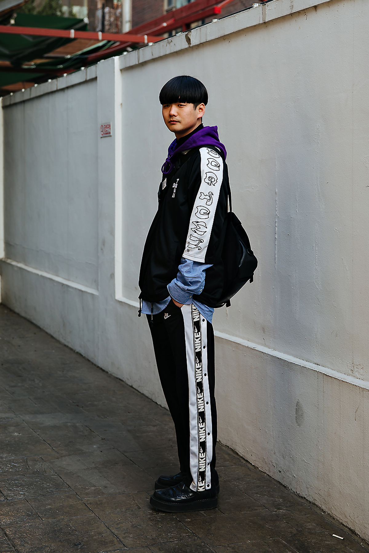 Park Namkyu, Street style men winter 2017-2018 in seoul