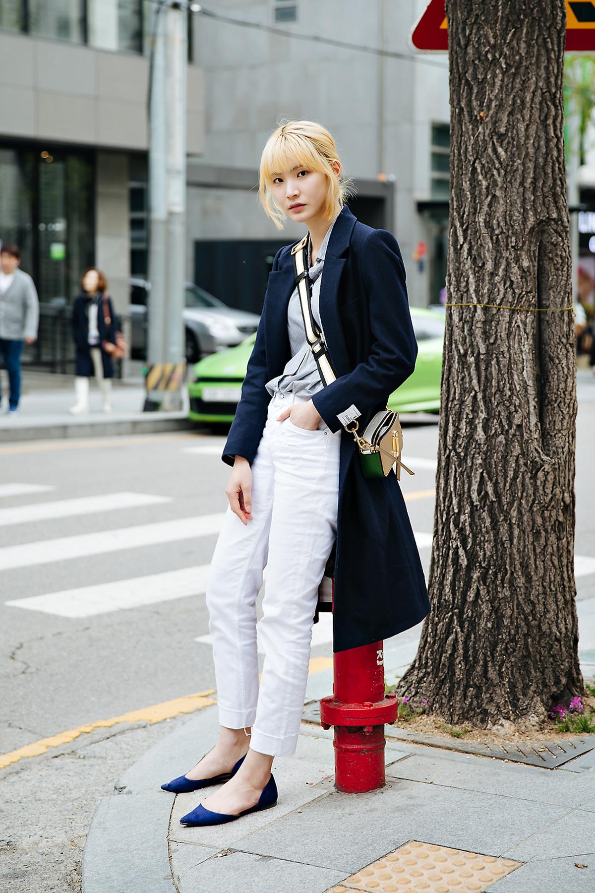 Park Seojin, Street style women spring 2018 in seoul